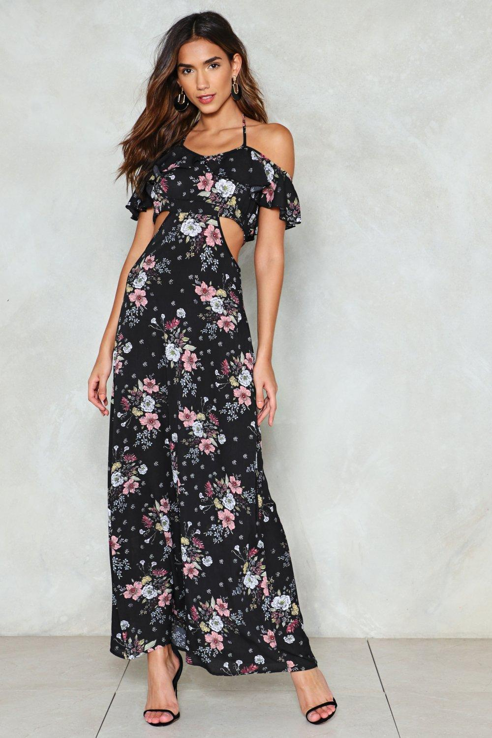 63d1b9bc95602 Growing on Me Floral Maxi Dress | Shop Clothes at Nasty Gal!