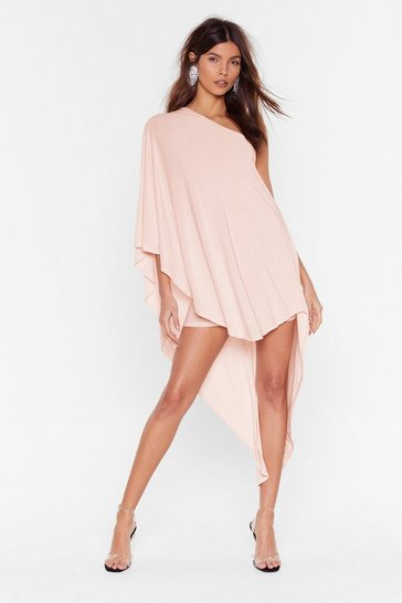 Womens Blush Superwoman Double Layer Dress