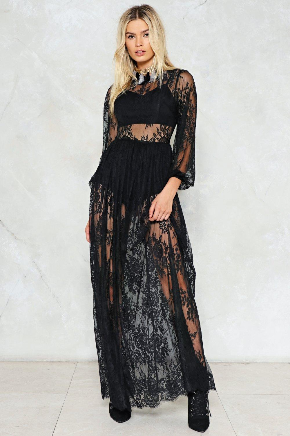 4c1bdb4673791 Endless Lace Maxi Dress | Shop Clothes at Nasty Gal!