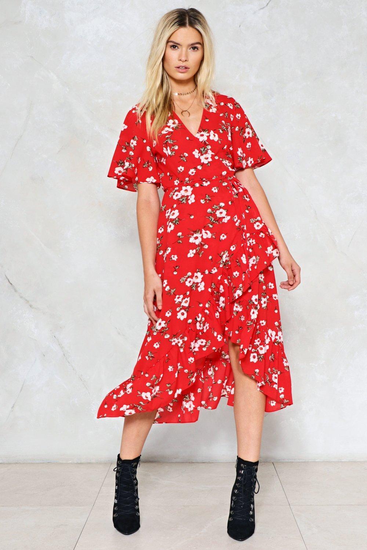 aaef36f4c06fa Long Run Floral Dress   Shop Clothes at Nasty Gal!