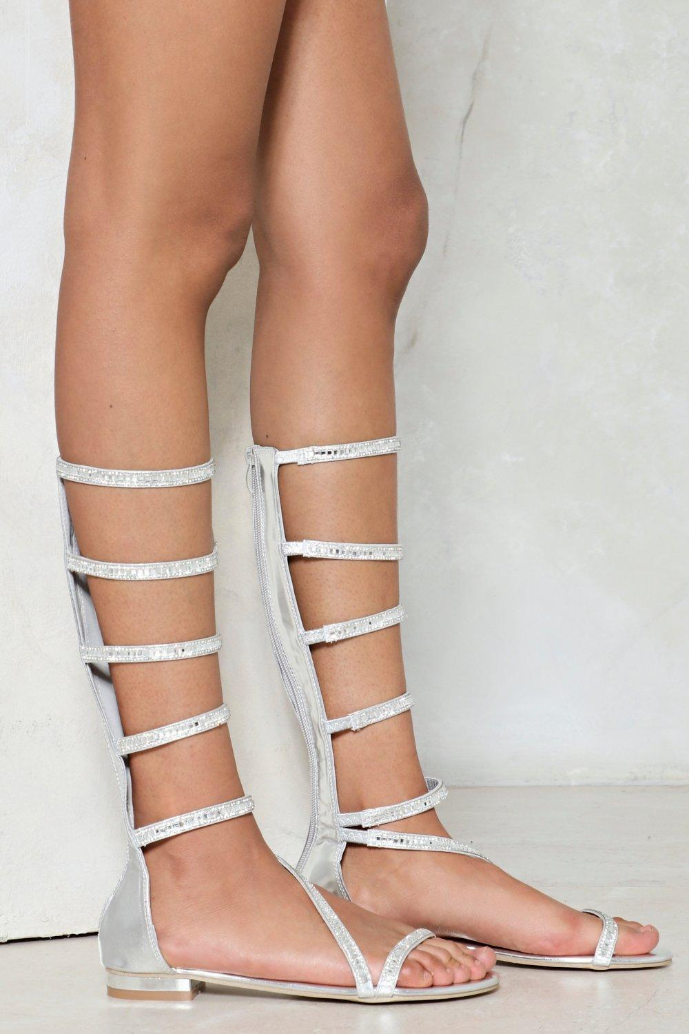 Out of Space Gladiator Sandal | Nasty Gal