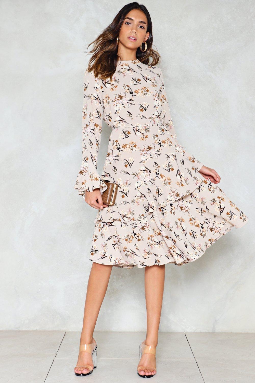 c45f6254c7edc Spring Street Floral Dress   Shop Clothes at Nasty Gal!
