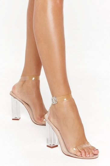 Nude Let's Be Clear Heel