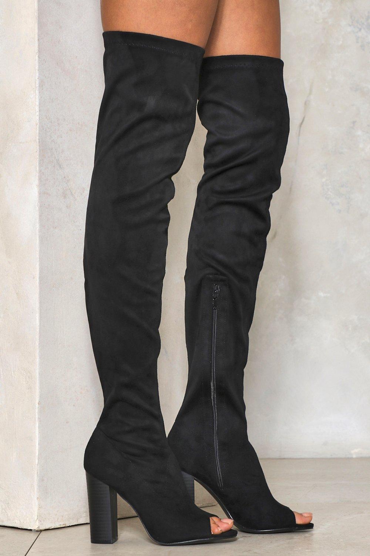 116a0bae6 Deep Dark Secret Thigh-High Boot | Shop Clothes at Nasty Gal!