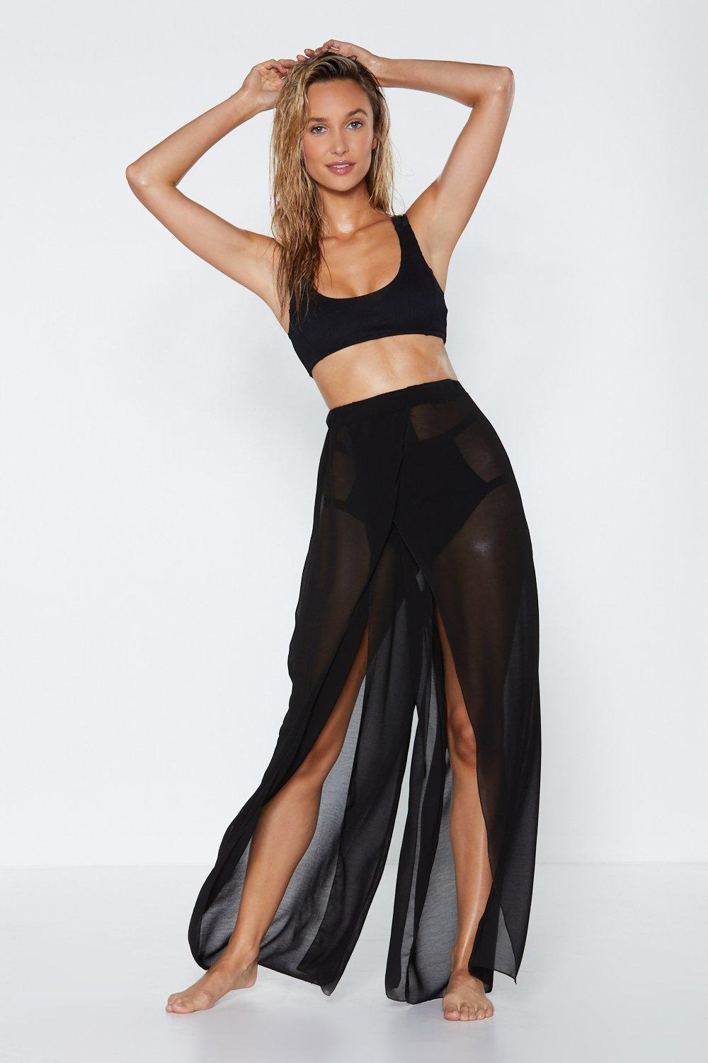 amazing quality low cost good texture I Can Sea Clearly Now Sheer Pants | Shop Clothes at Nasty Gal!
