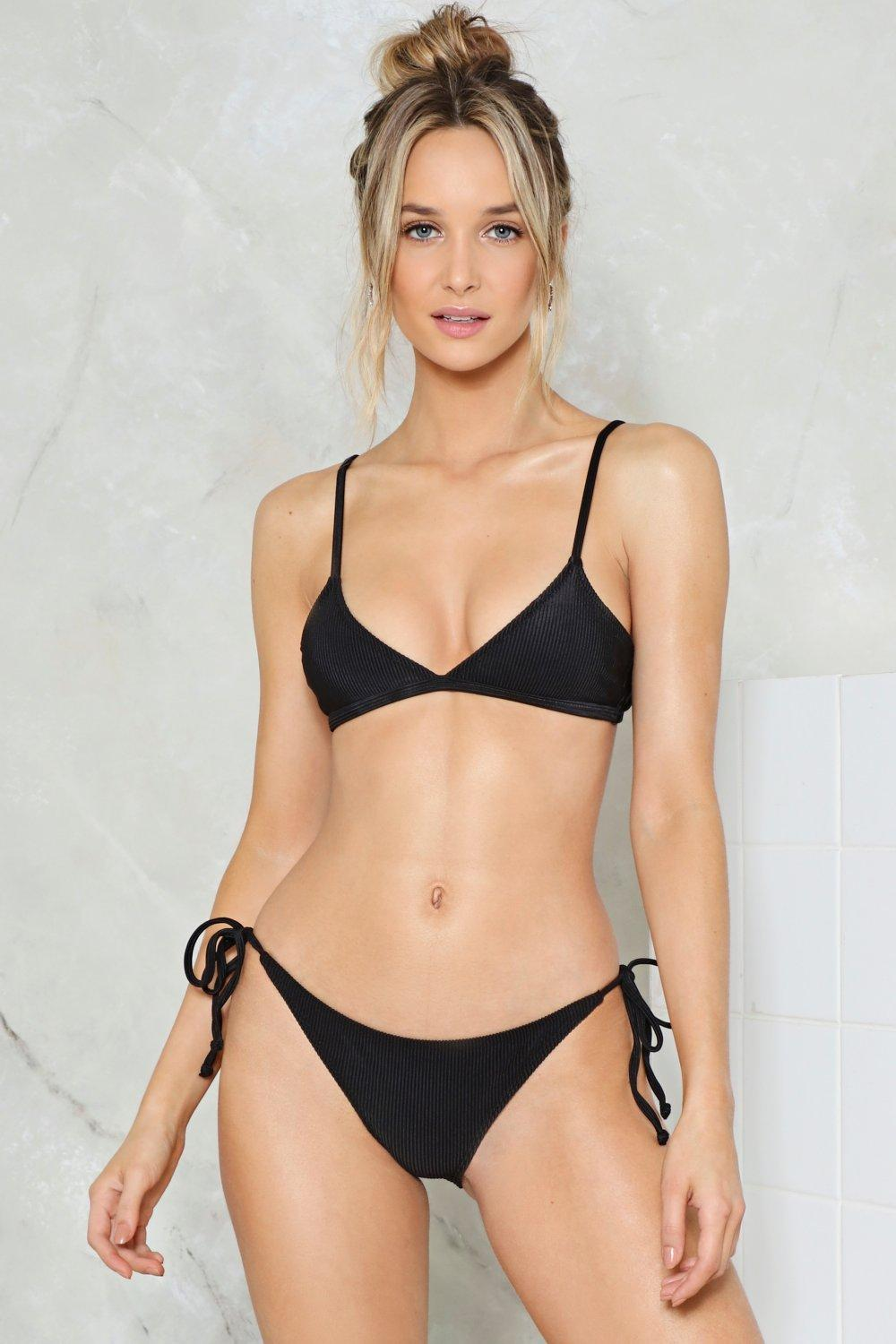 26ed7ee6a3c3f Nasty Gal Alina Mix & Match Triangle Bikini Top | Shop Clothes at ...