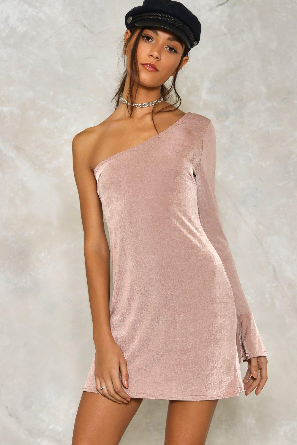 945ac4f5ad80 All for One Shoulder Bodycon Dress | Shop Clothes at Nasty Gal!