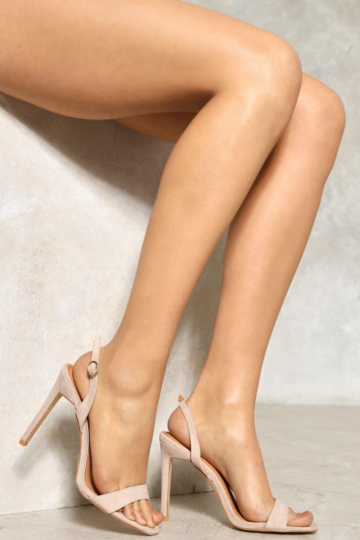 Nude Slingback Heels