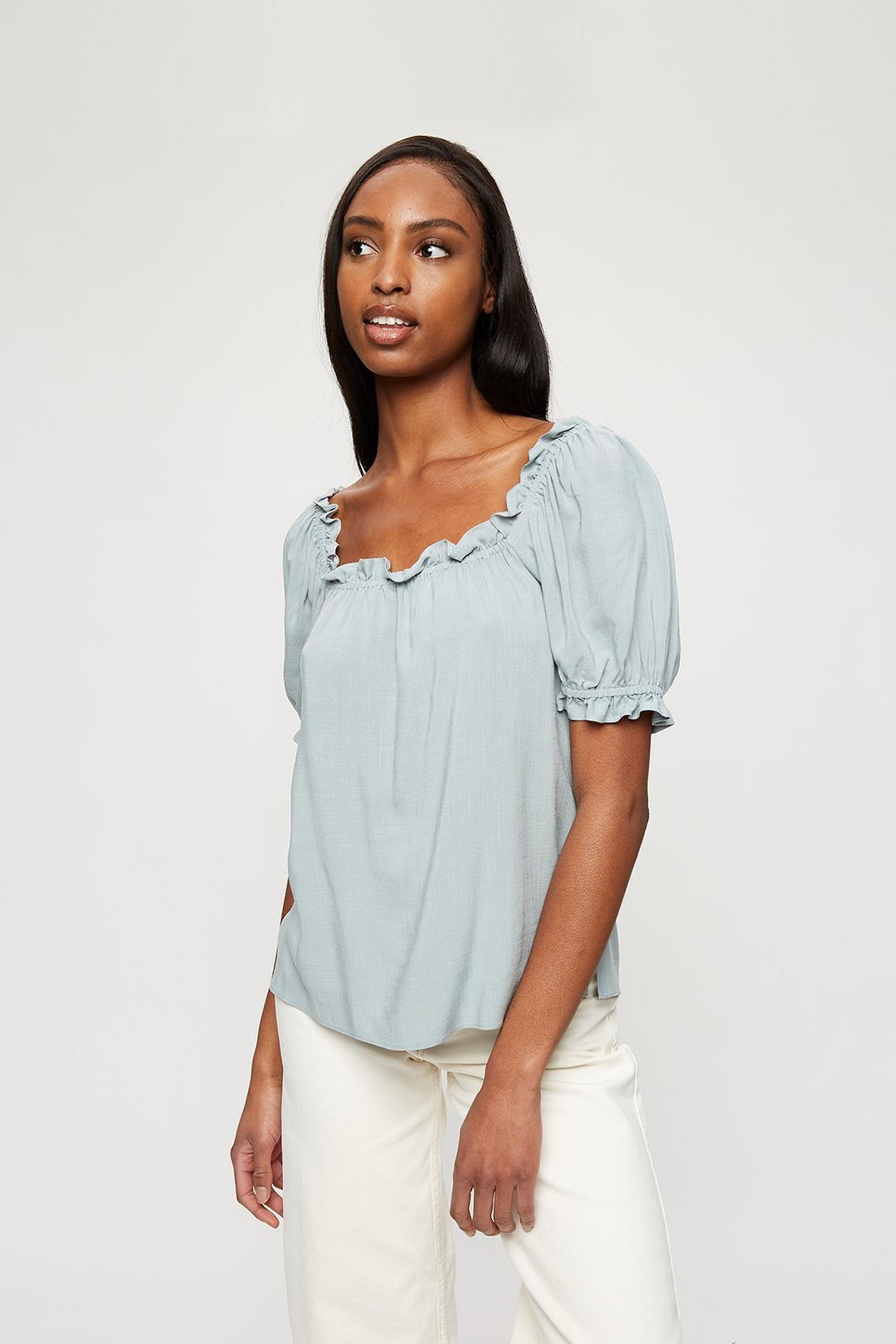 Duck Egg Gypsy Top