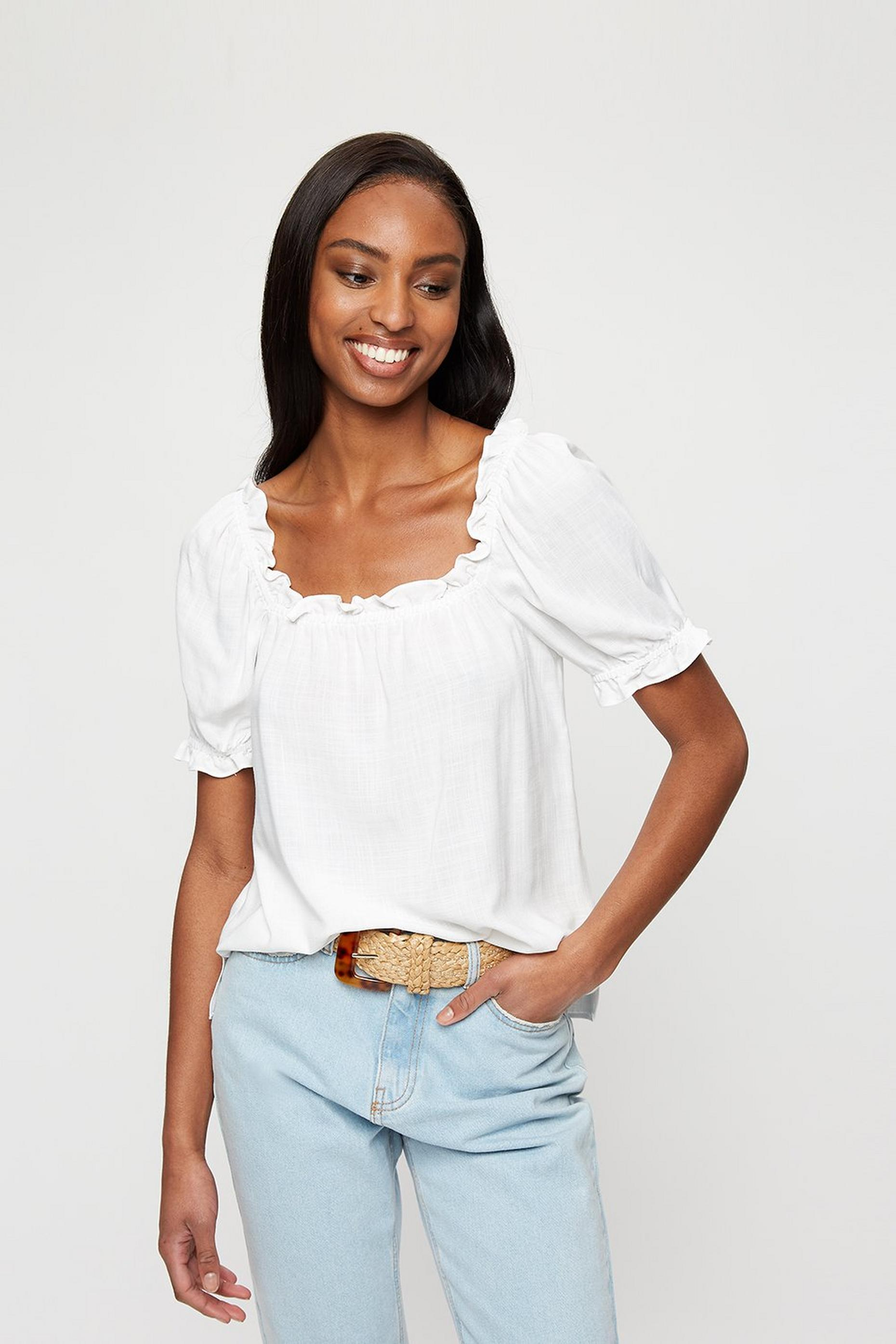 Ivory Gypsy Top