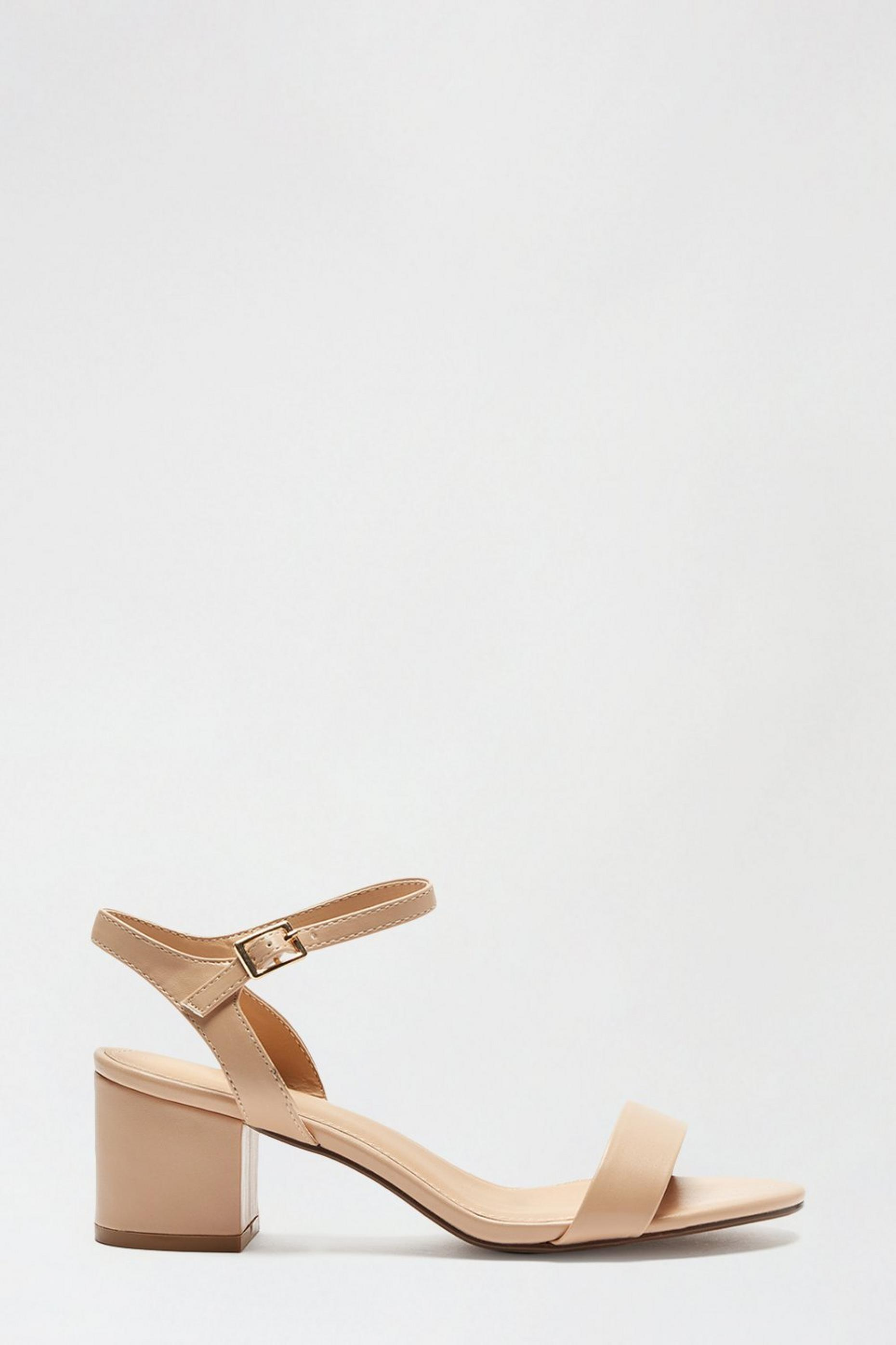 Blush Star Low Block Heeled Sandal