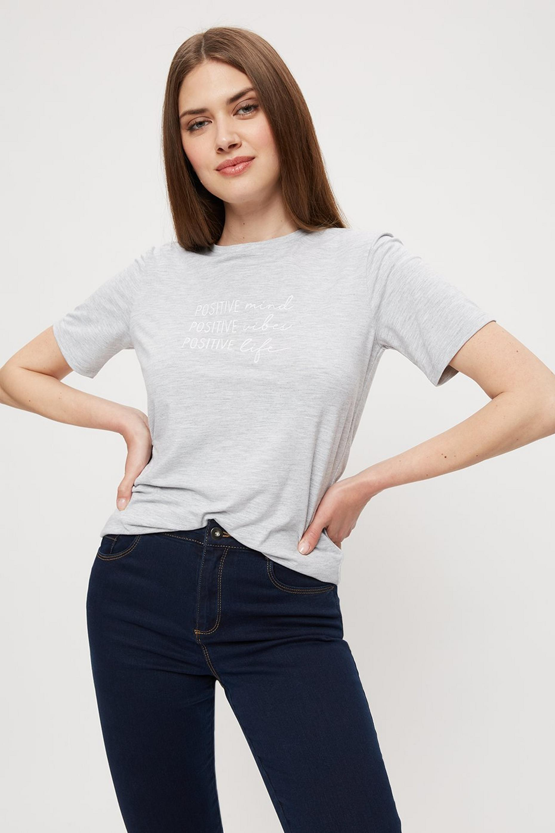Tall Grey Positive Logo Top