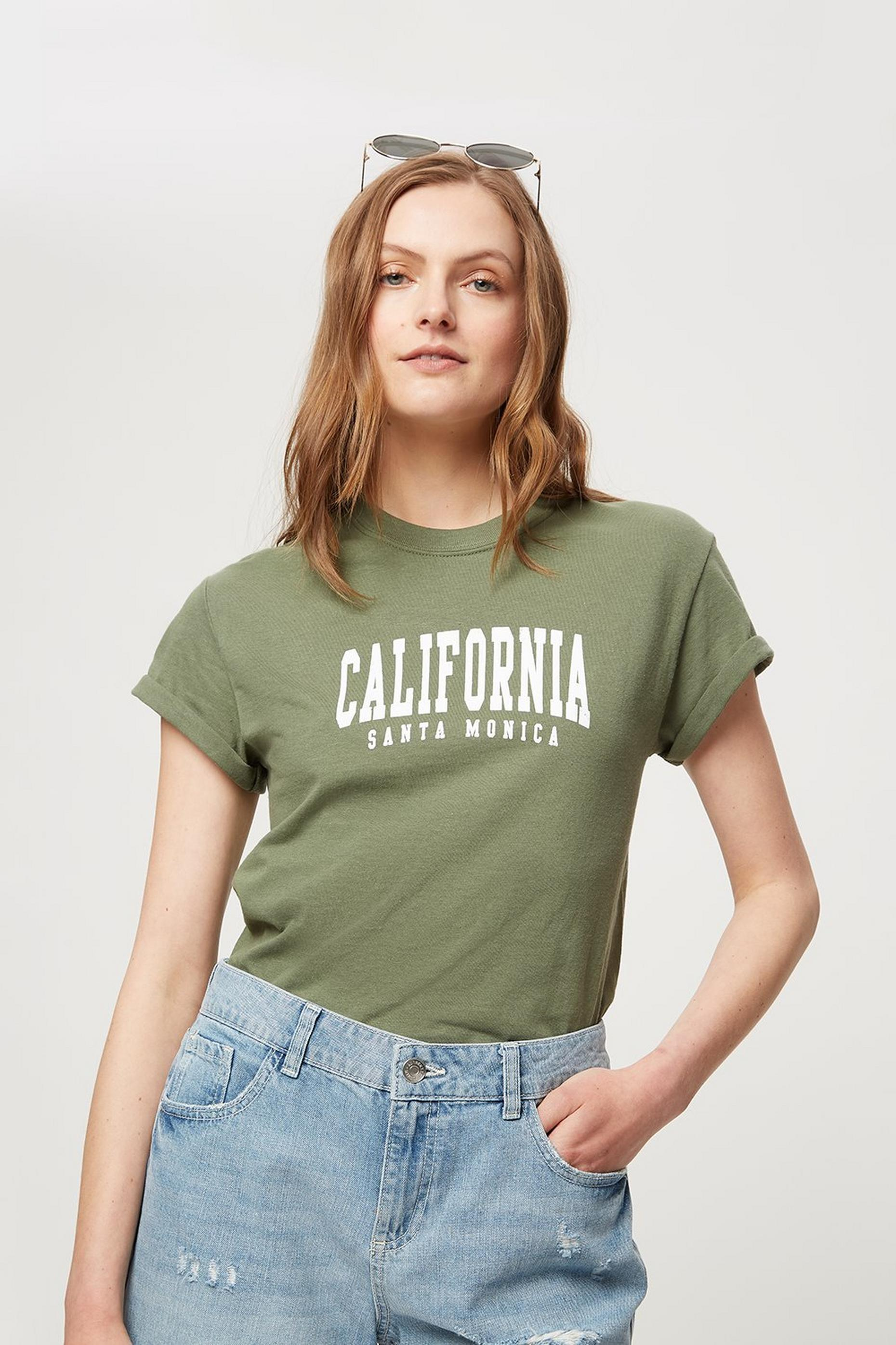 California Logo Tee