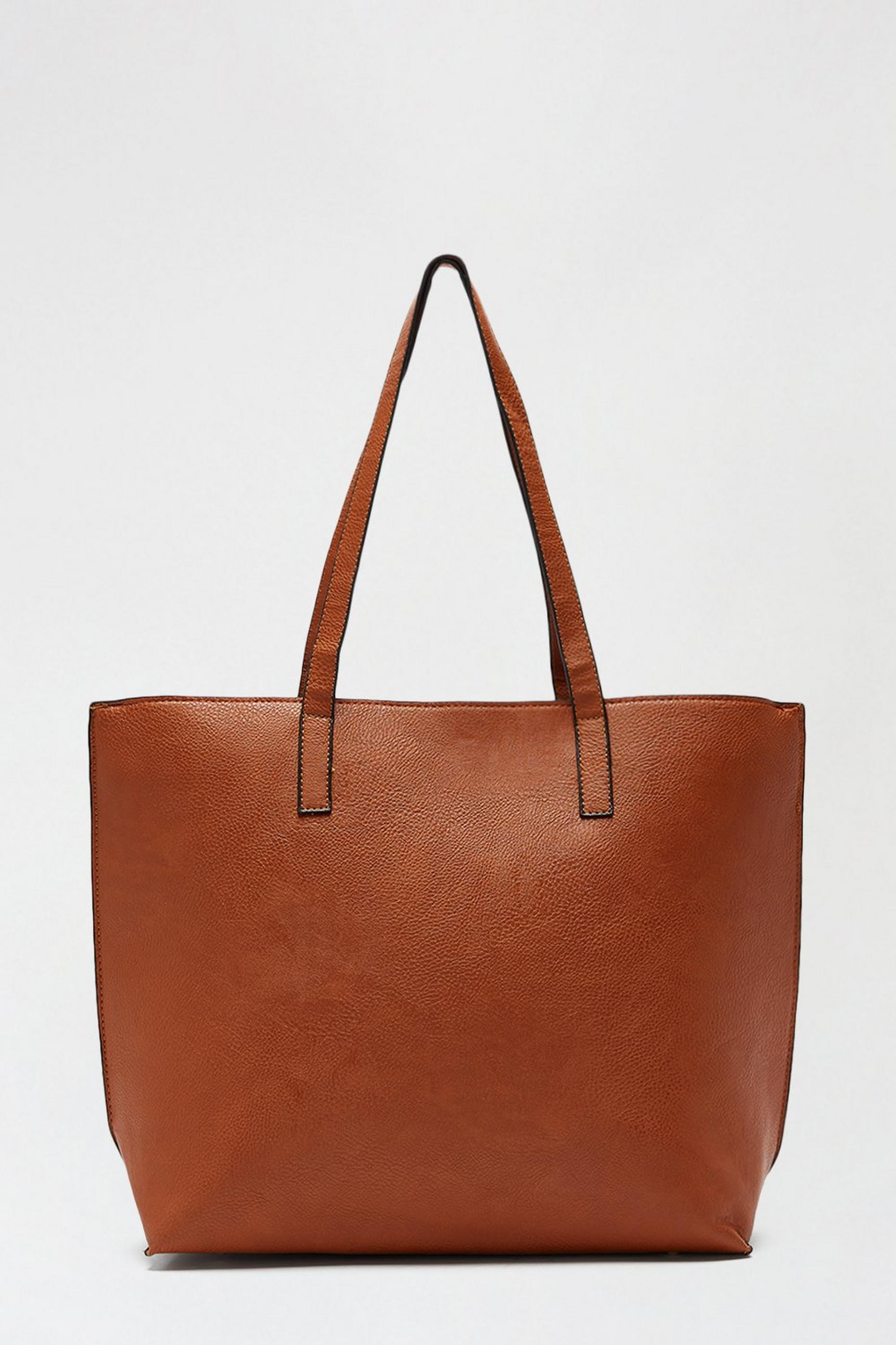 Tan Shopper Bag
