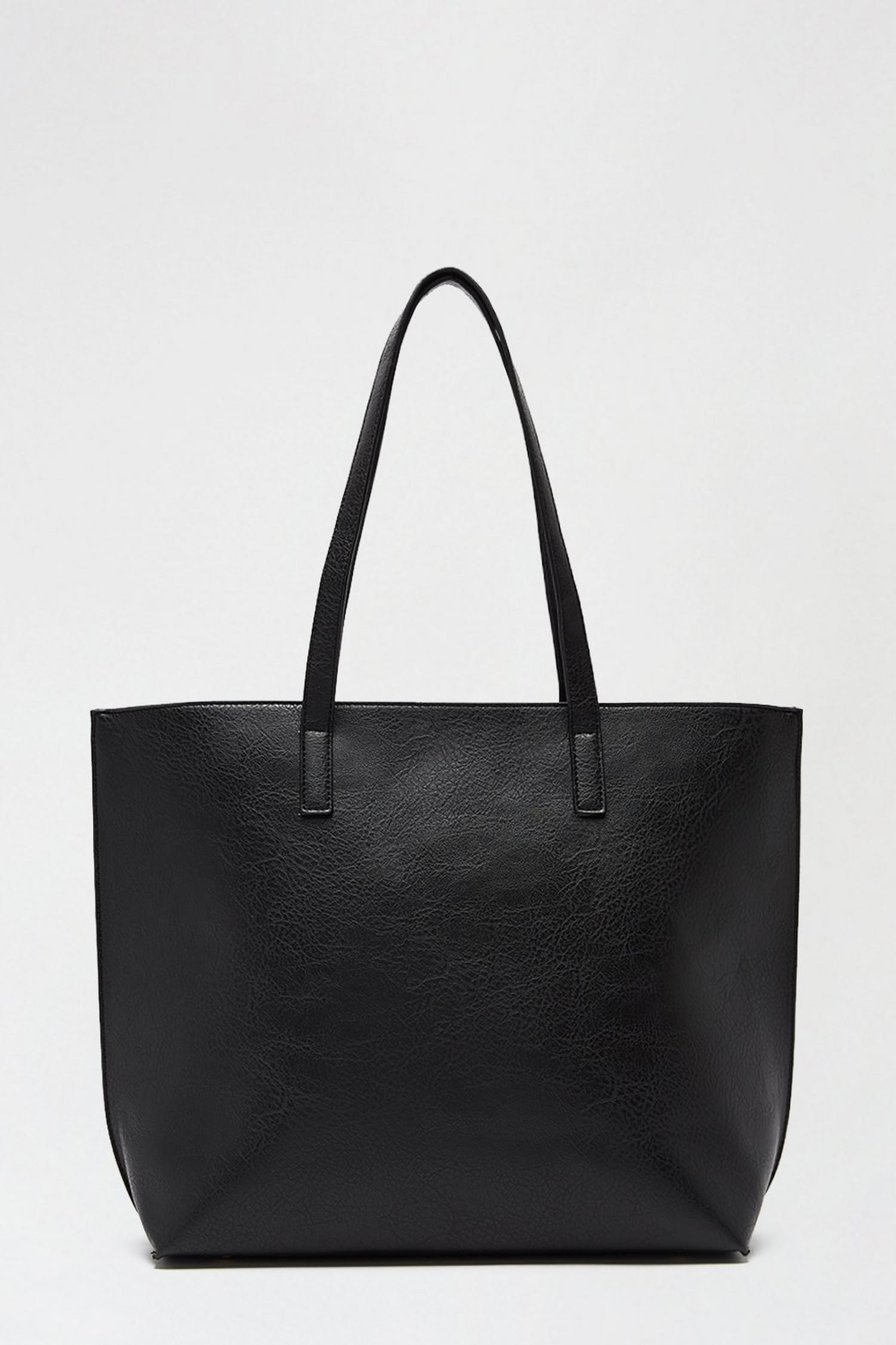 105 Black Shopper Bag image number 1