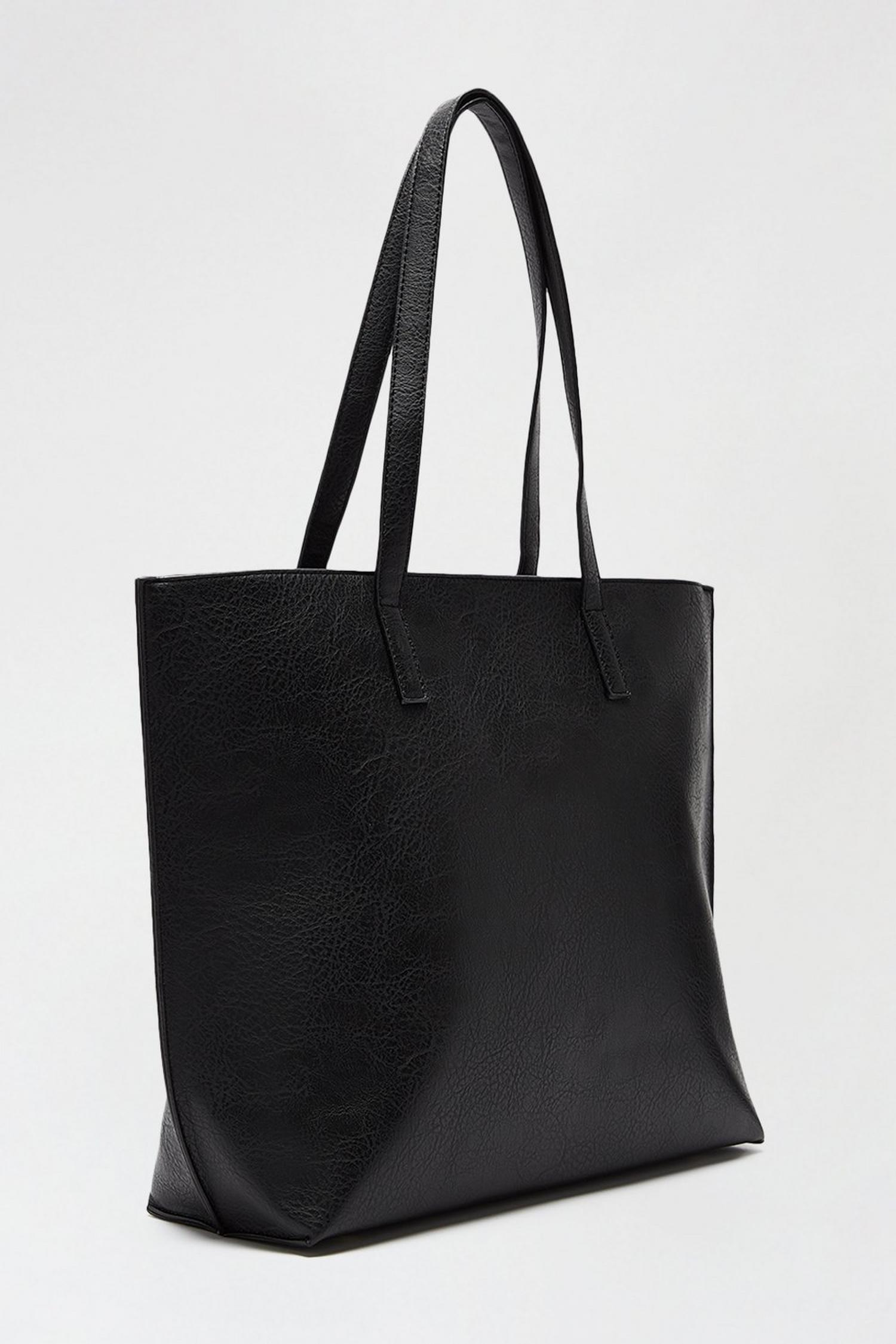 105 Black Shopper Bag image number 2