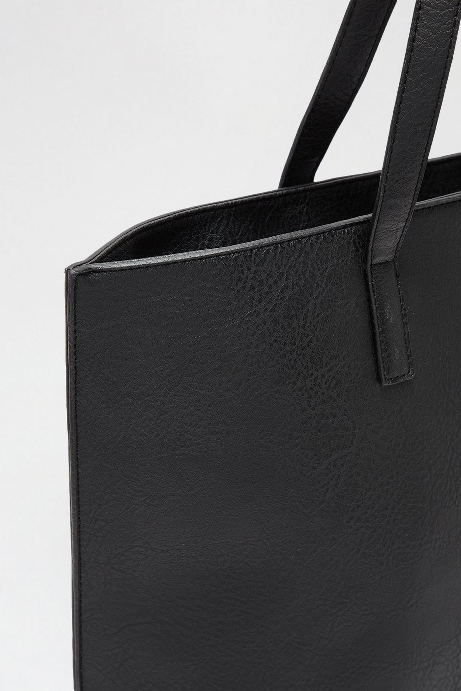 105 Black Shopper Bag image number 4