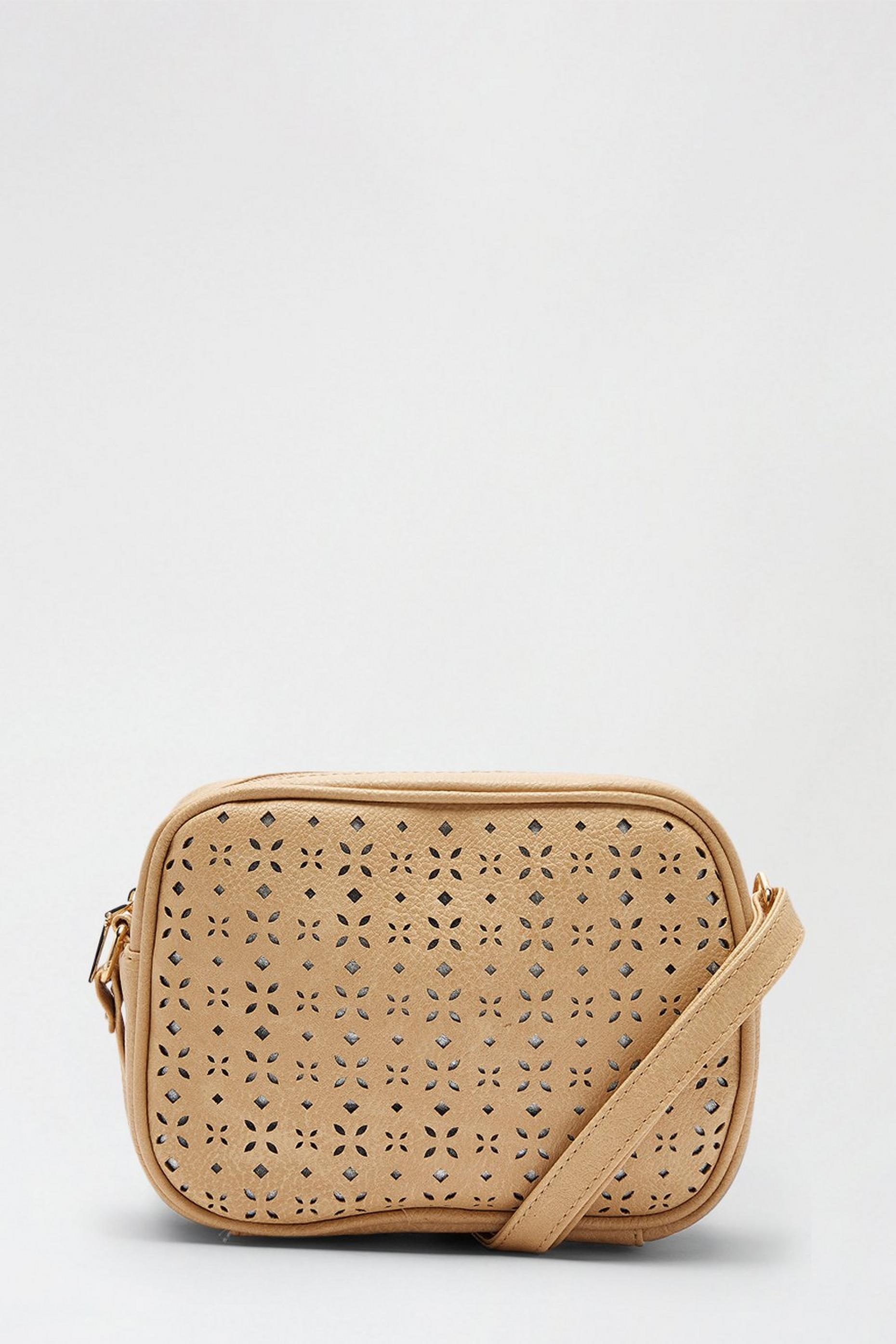 Laser Cut Detail Cross Body