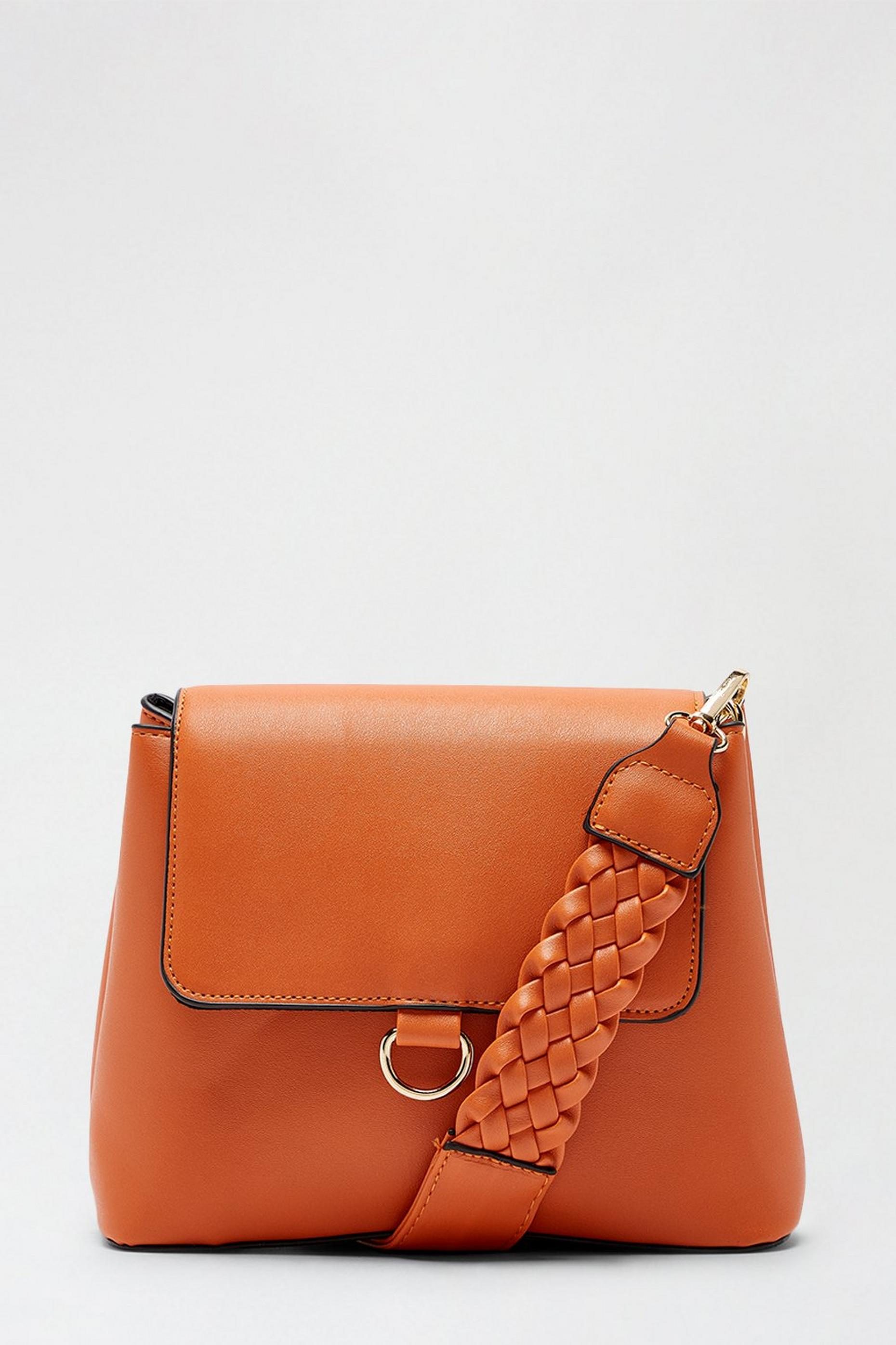 Woven Strap Detail Cross Body
