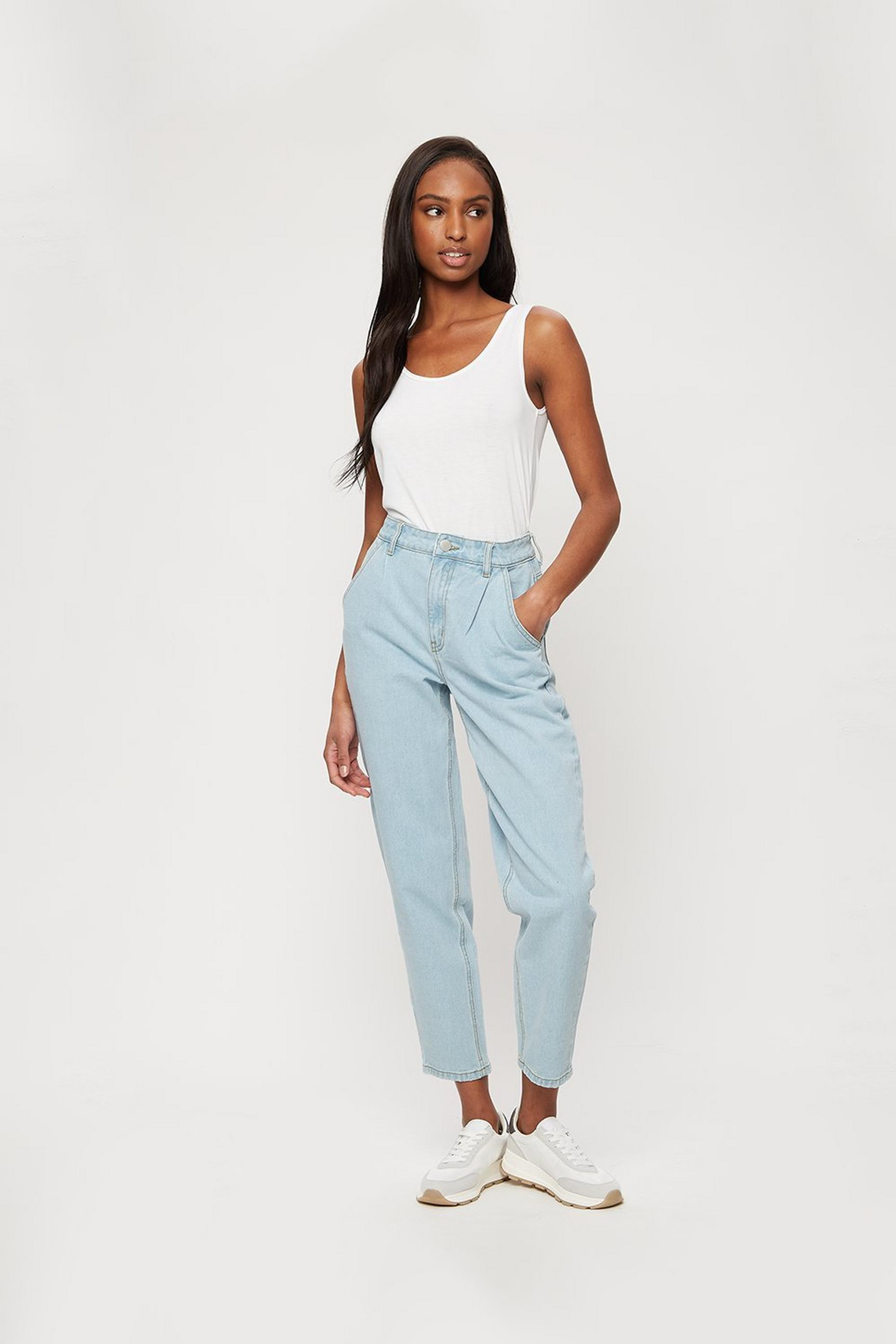 Lightwash Slouch Jean