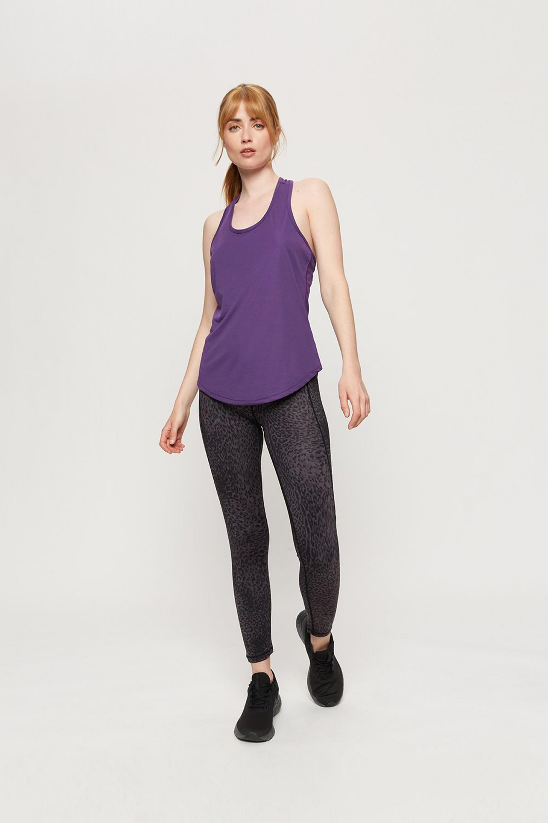 Purple Yoga Vest