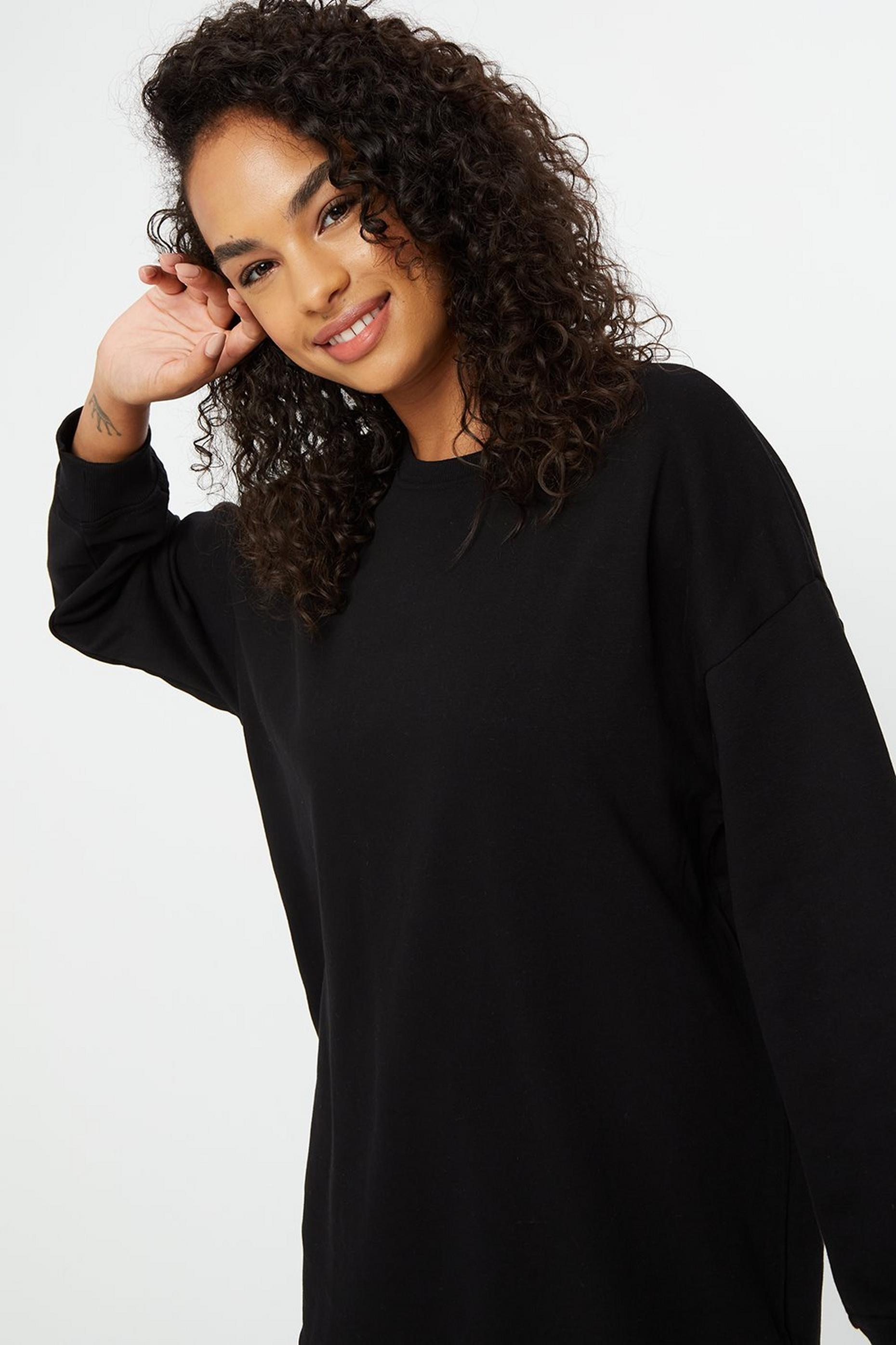 Black Sweat Tunic