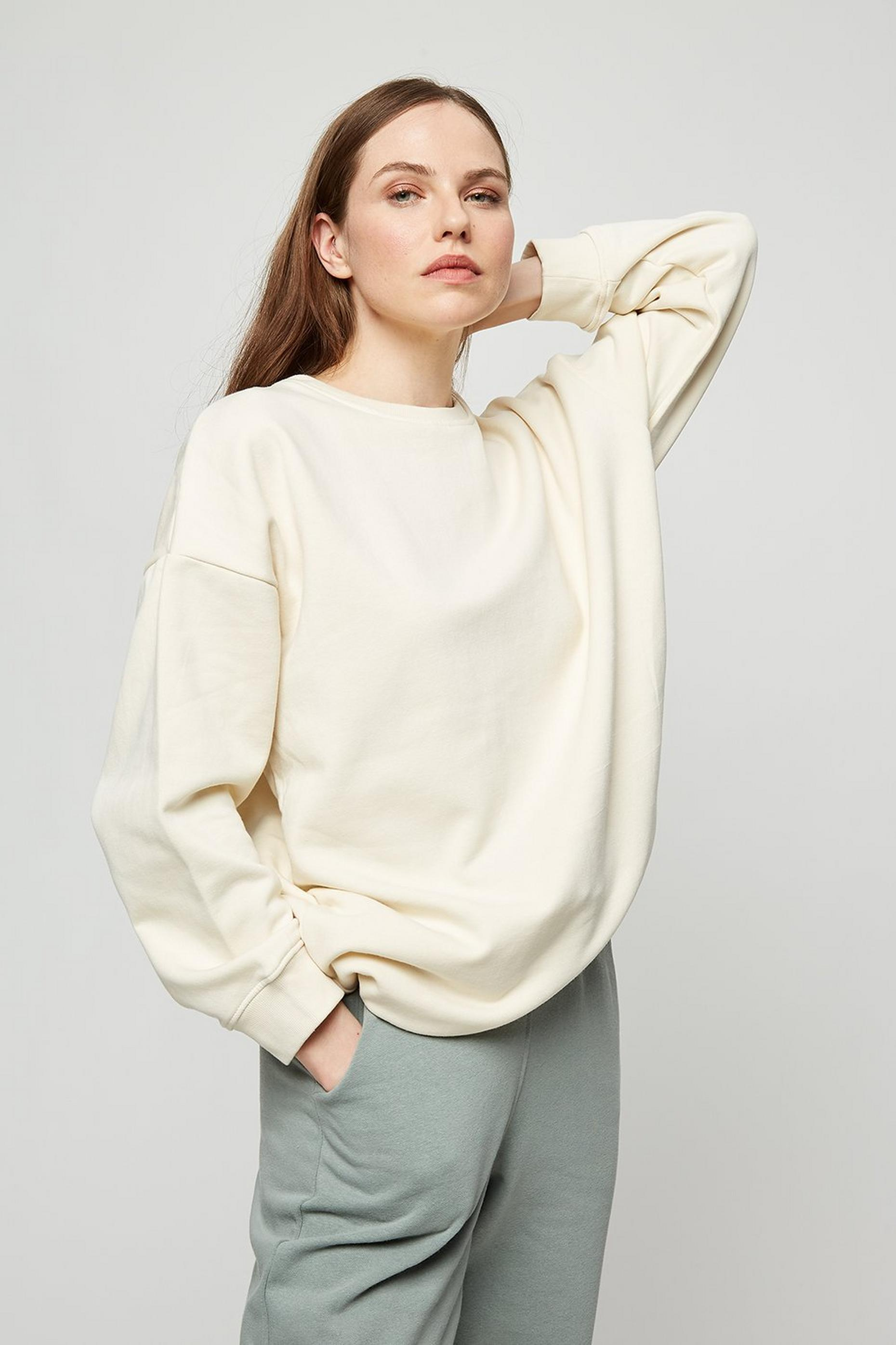 Cream Sweat Tunic