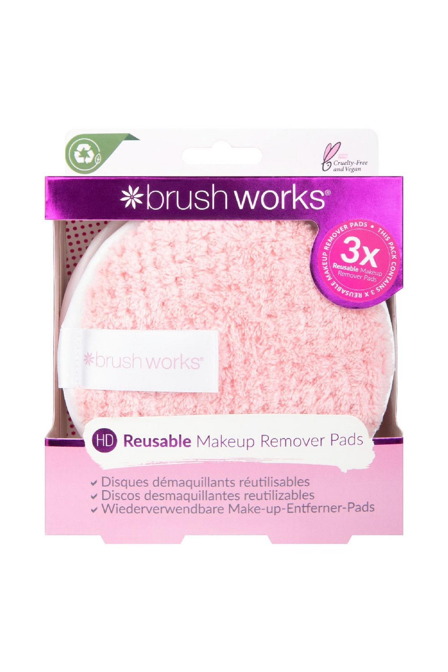 Brushworks Hd Reusable Makeup Remover Pads