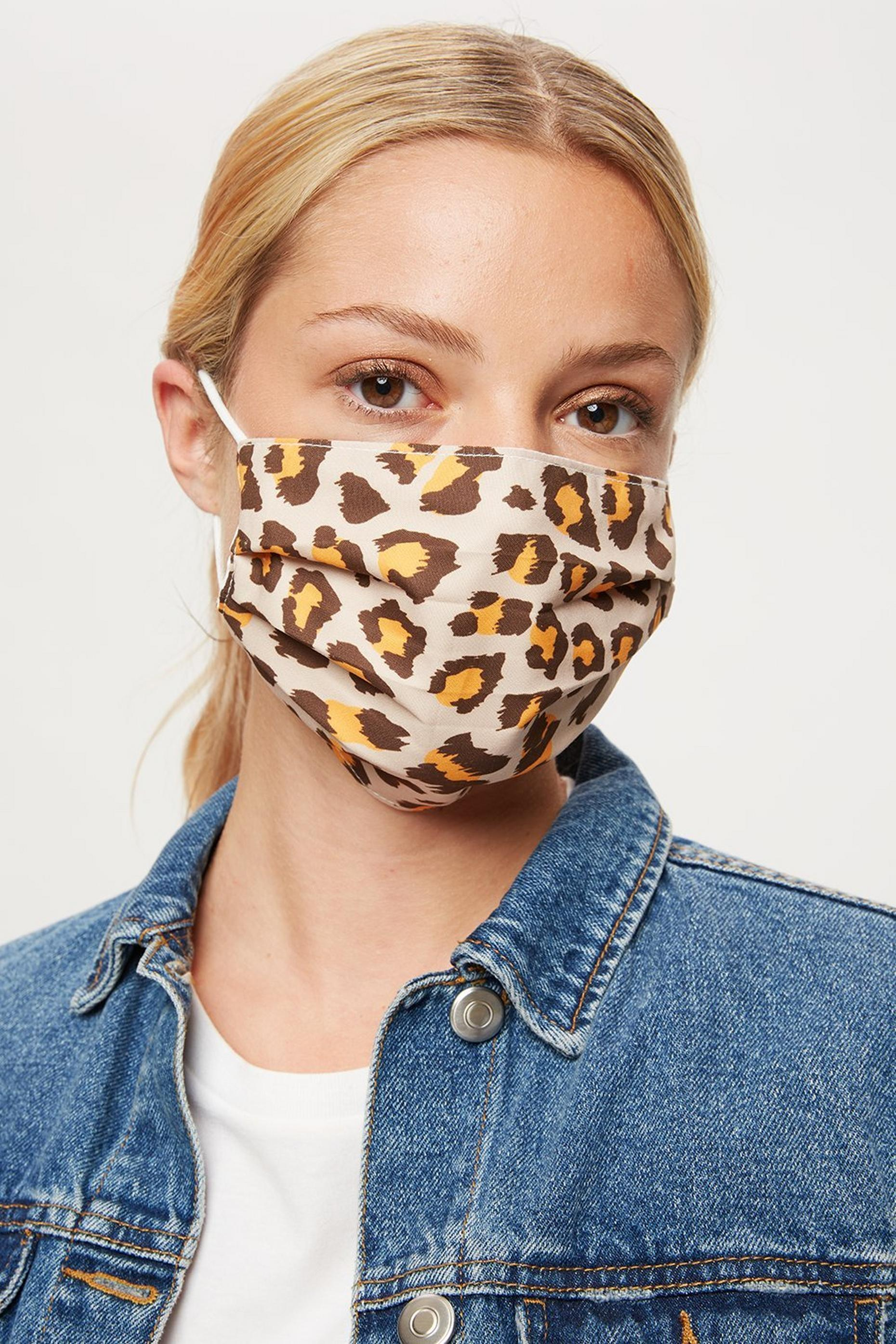 Leopard Face Cover
