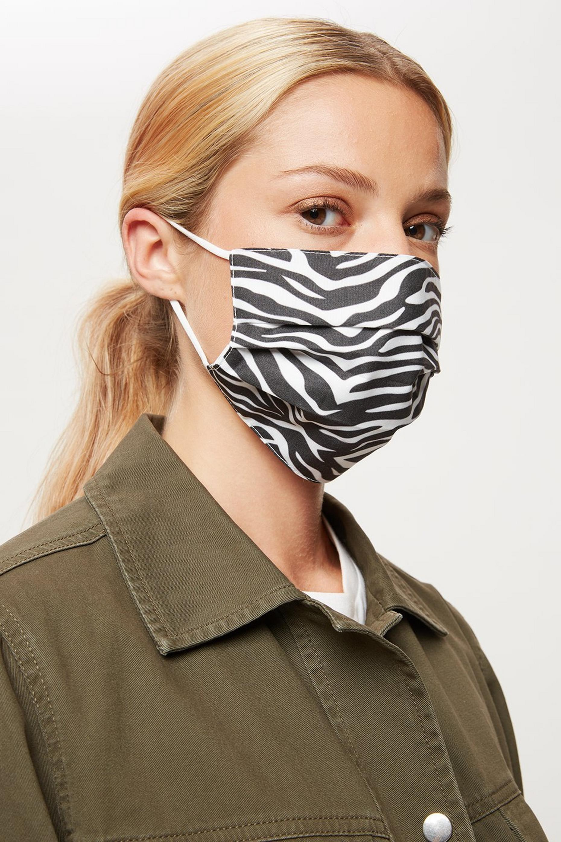 Zebra Face Covers