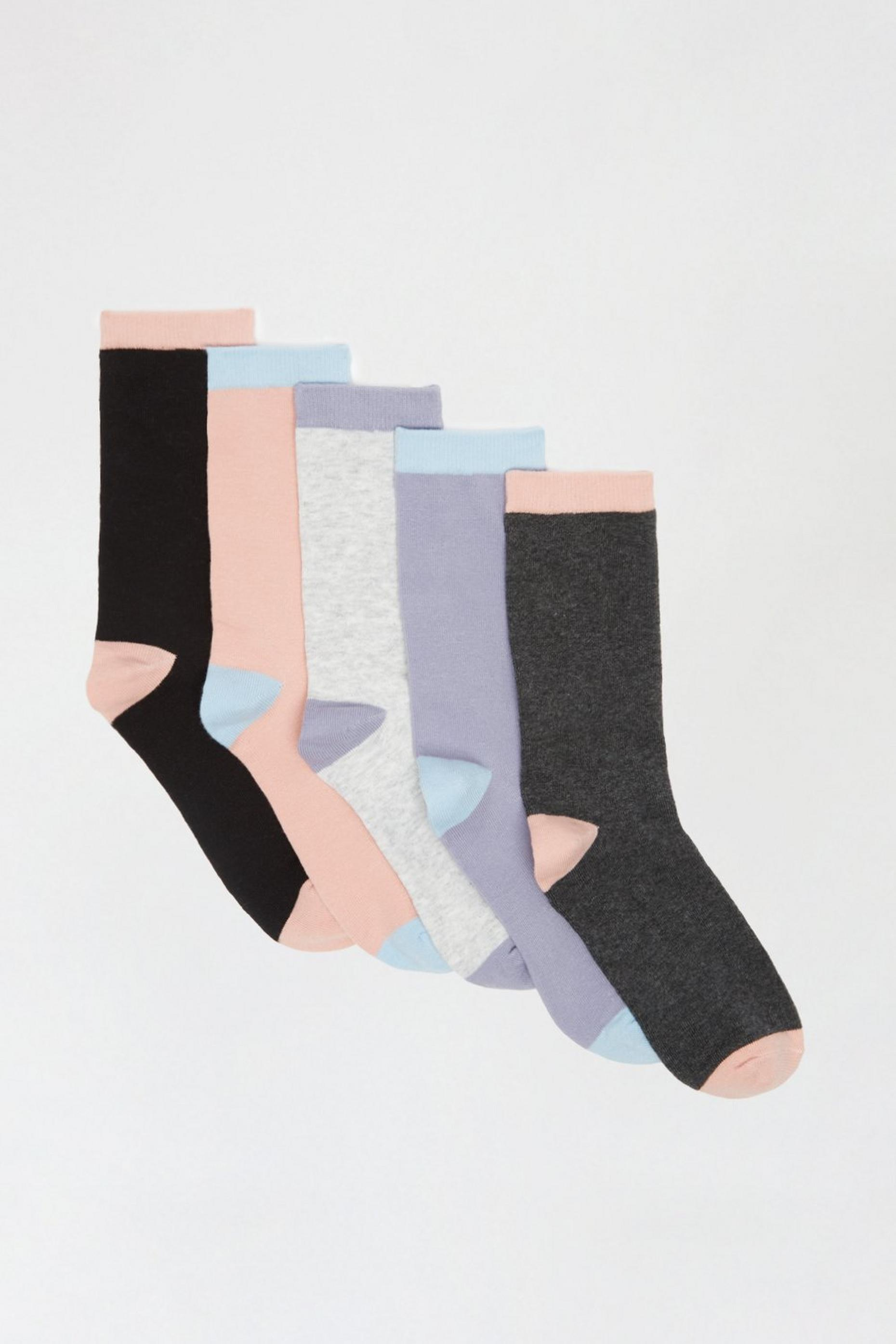 Pastel 5 Pack Ankle Sock