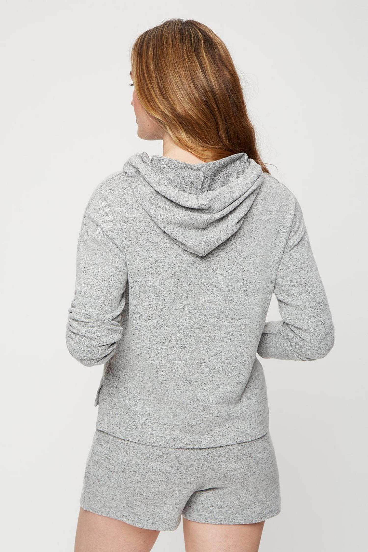 265  Long Sleeve Supersoft Hoody image number 3