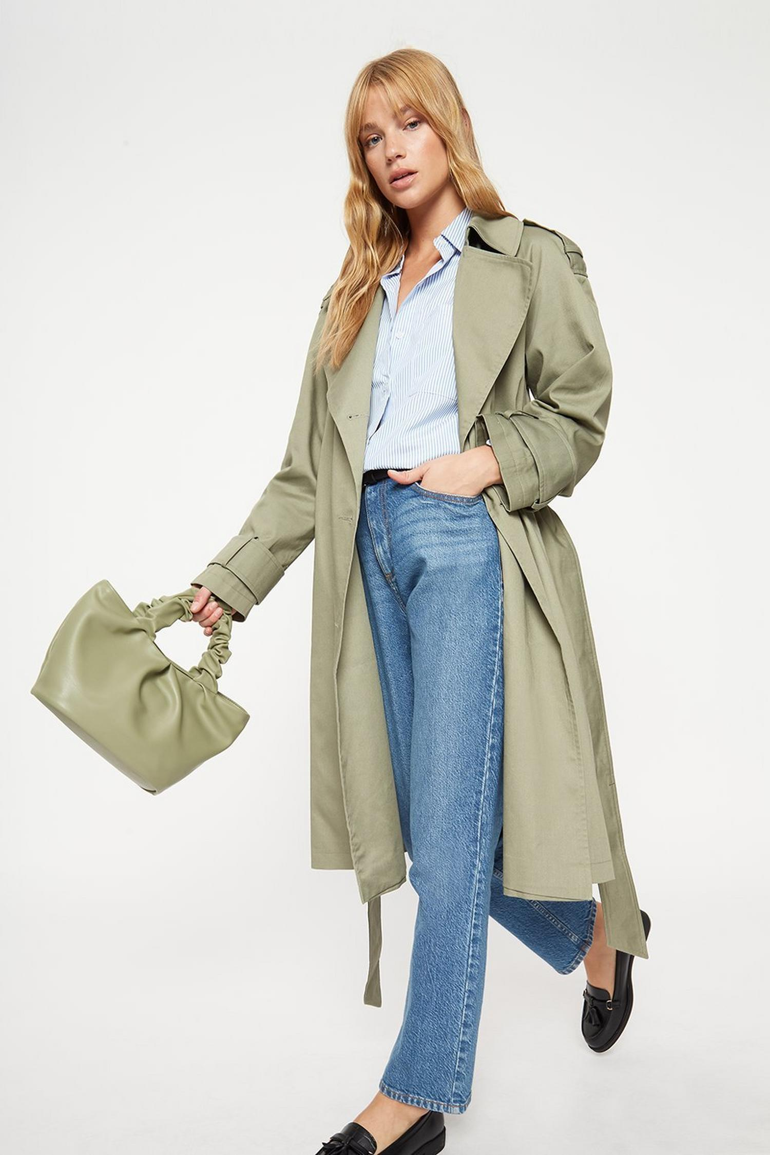 135 Long Trench Coat image number 0