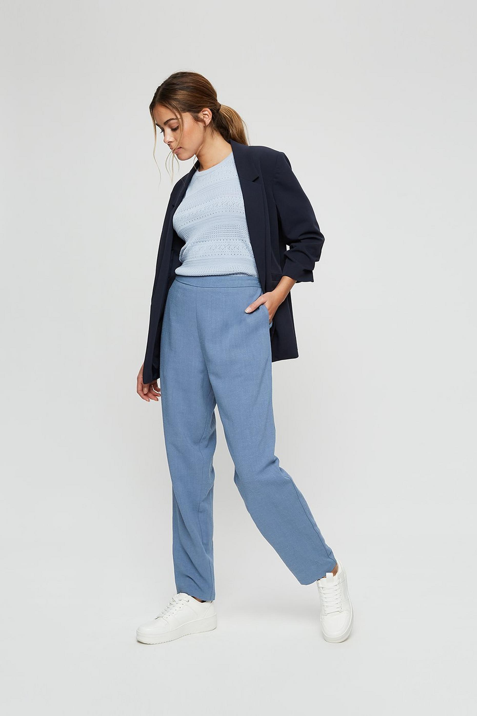 Blue Peg Trouser