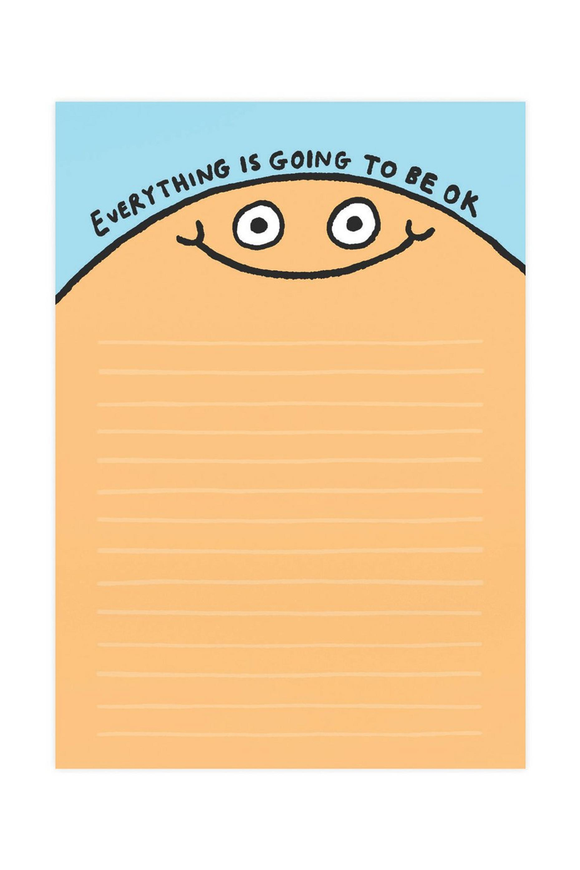 Ohh Deer Slogan A5 Notepad