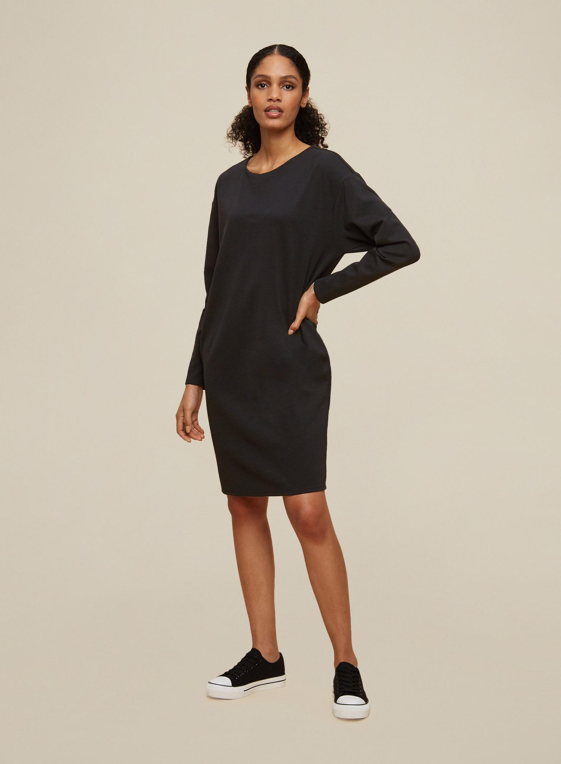 Tall Black Shift Dress