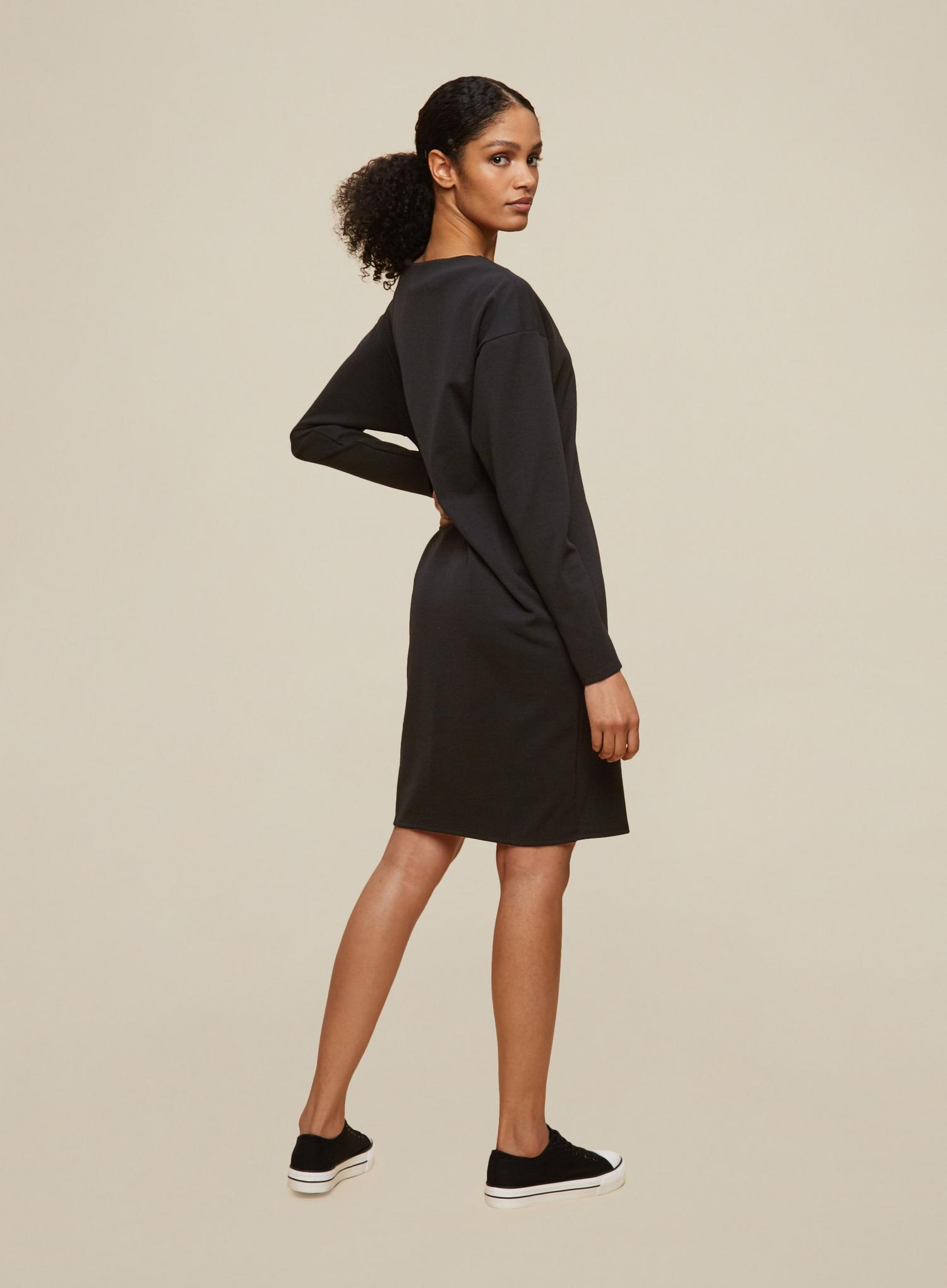 105 Tall Black Shift Dress image number 2