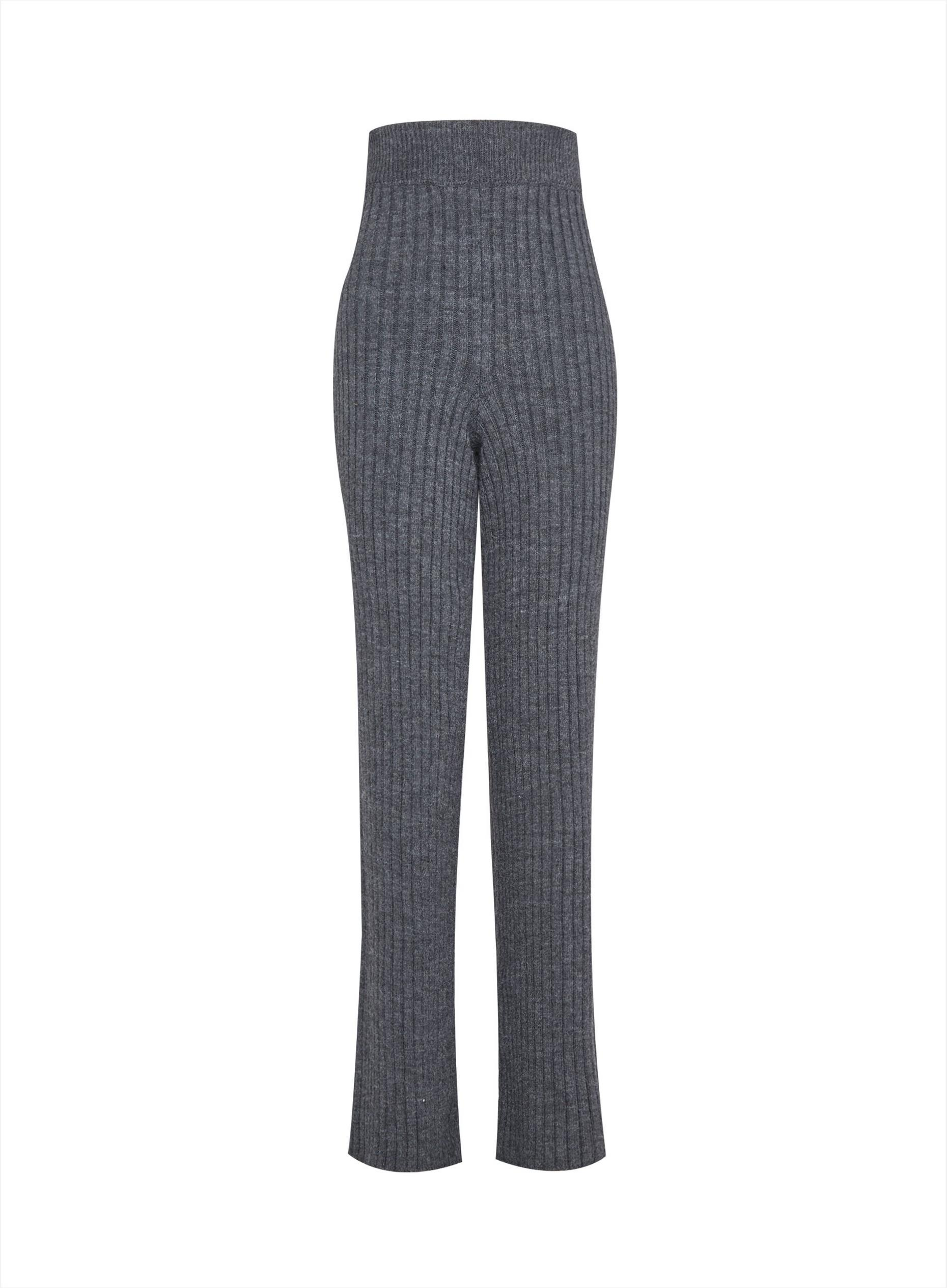 Tall Charcoal Wide Leg Lounge Trousers