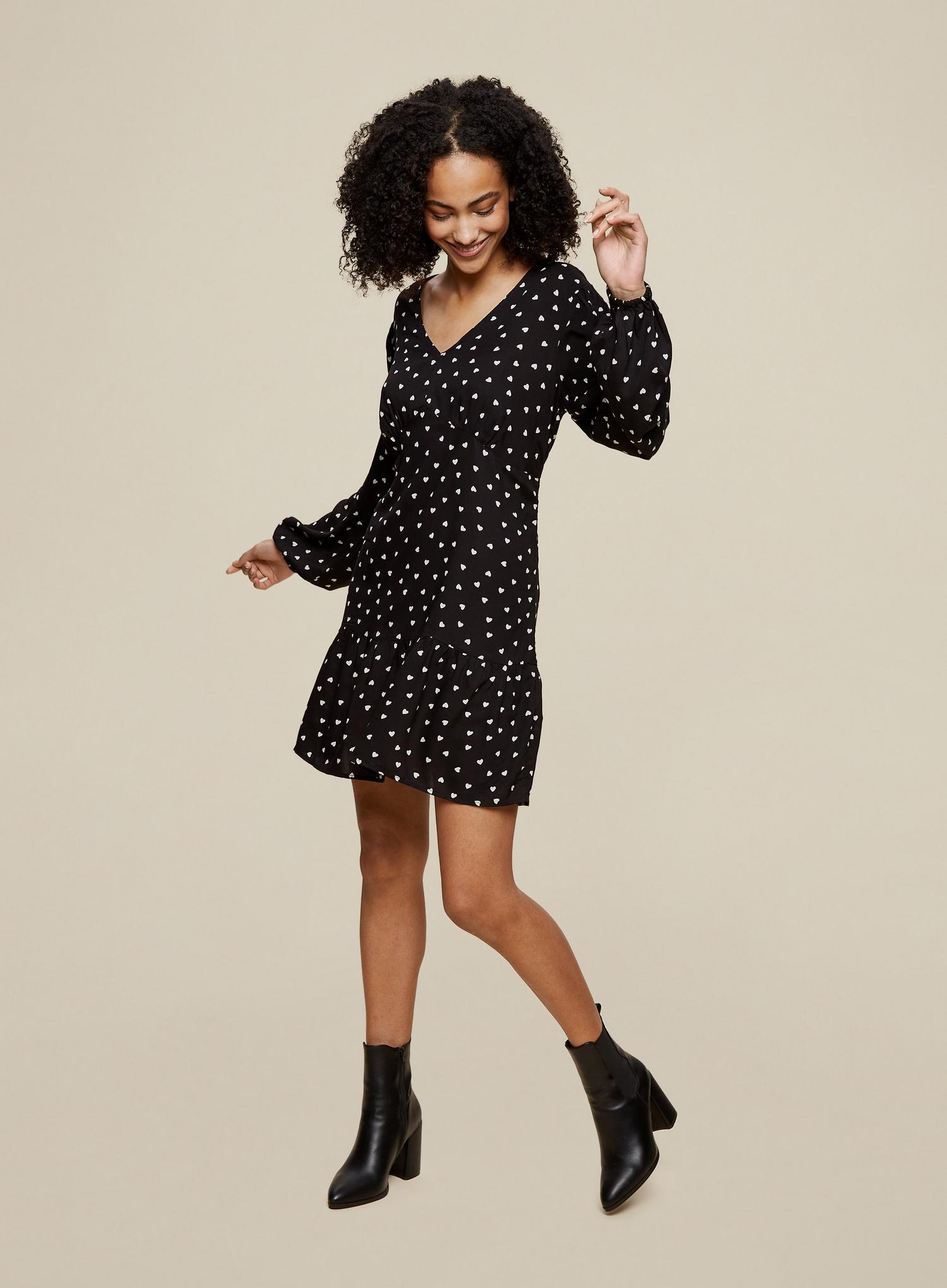 144 Tall Spot Smock Dress image number 1