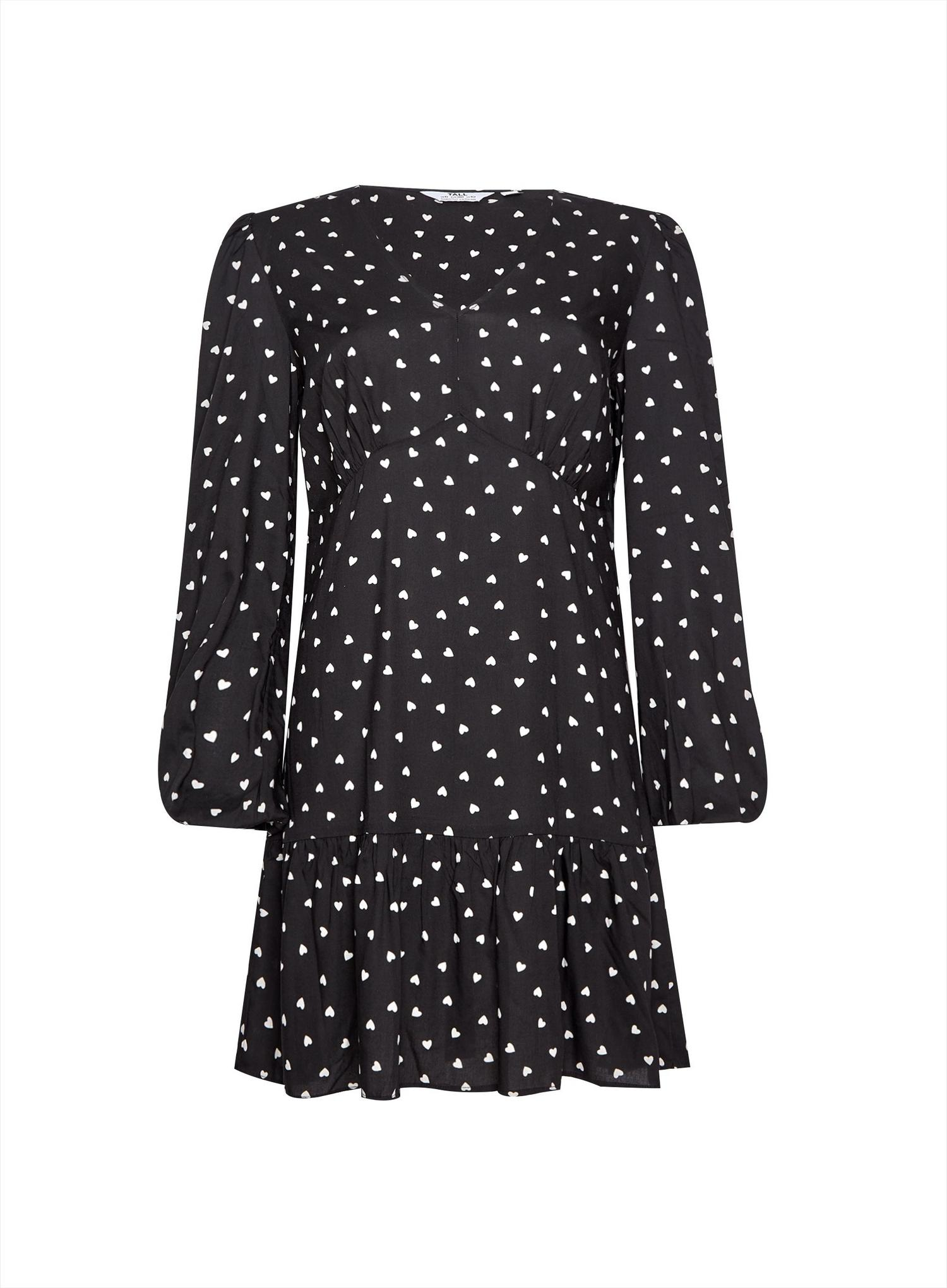 144 Tall Spot Smock Dress image number 4