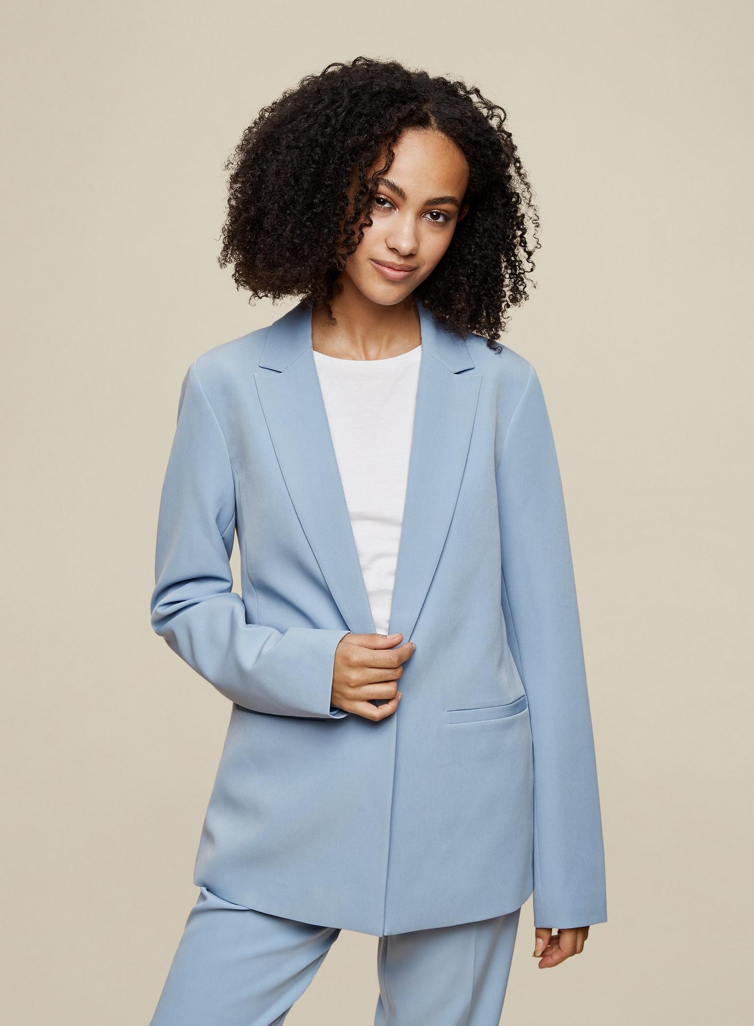 106 Tall Blue Blazer image number 1