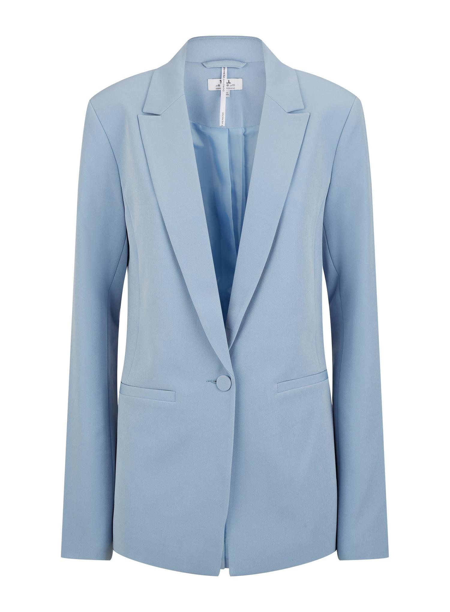 106 Tall Blue Blazer image number 2