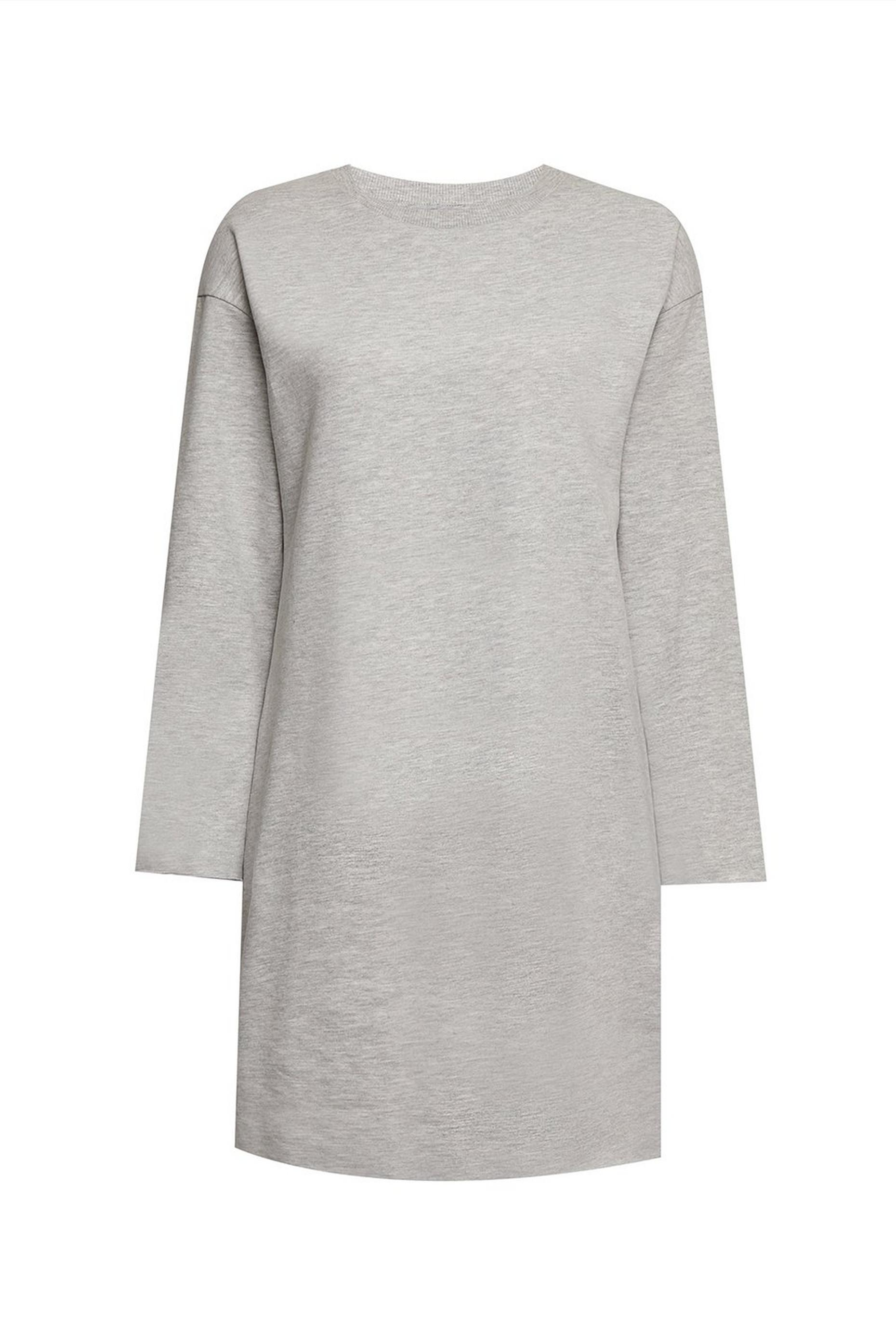 Tall Grey Sweatshirt Dress