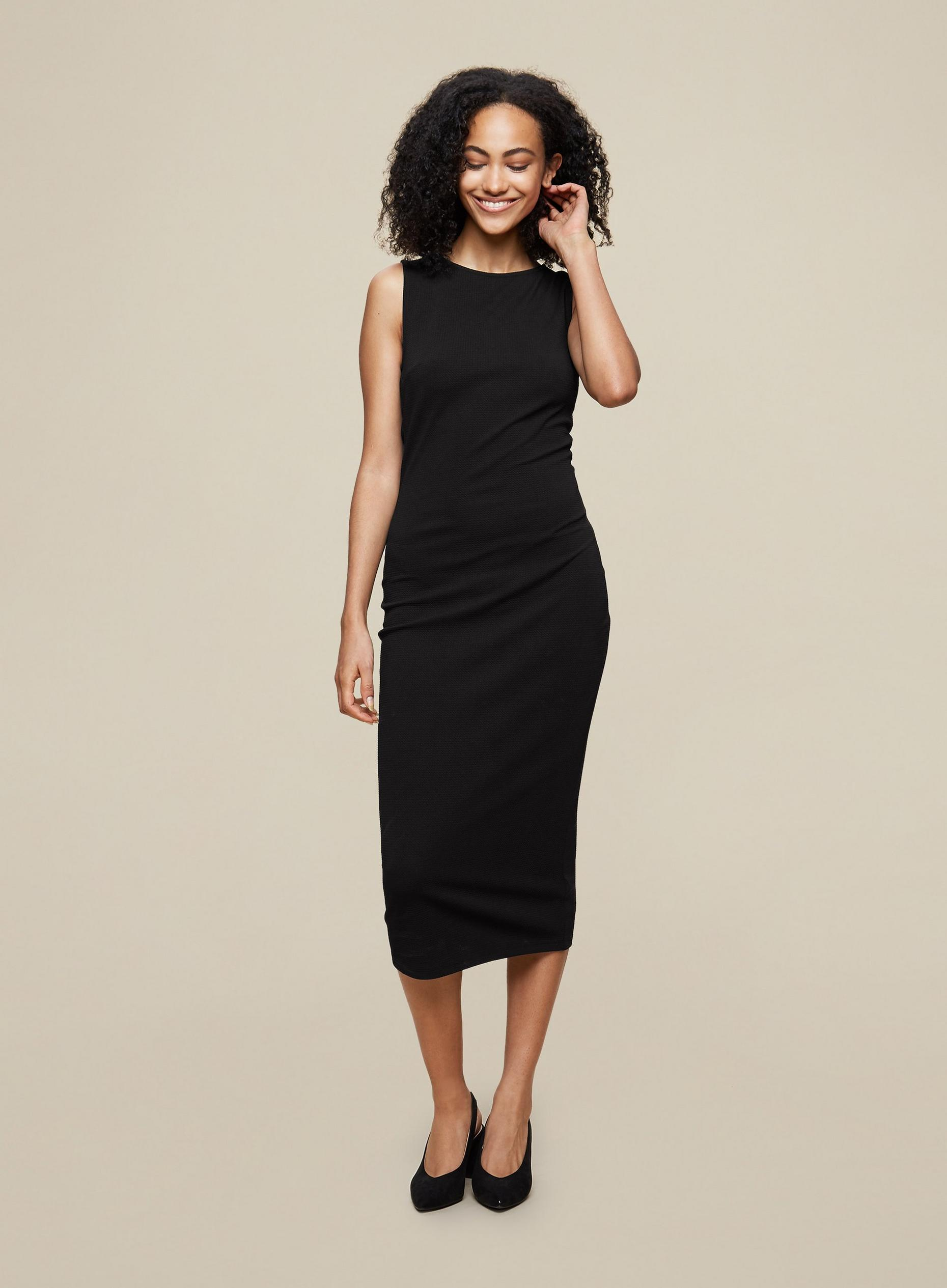 Tall Black Bodycon Dress