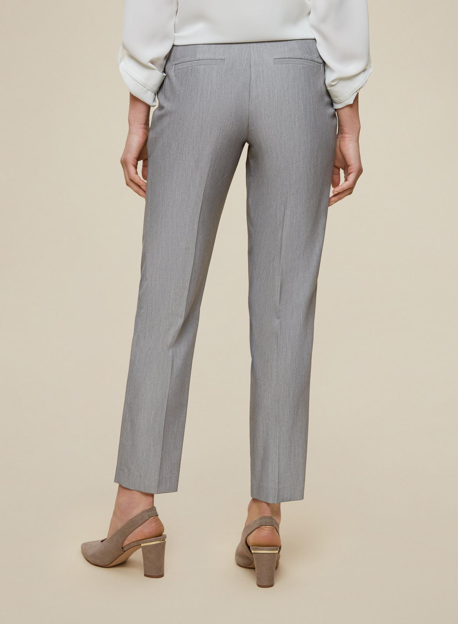 131 Tall Grey Tailored Trousers image number 2