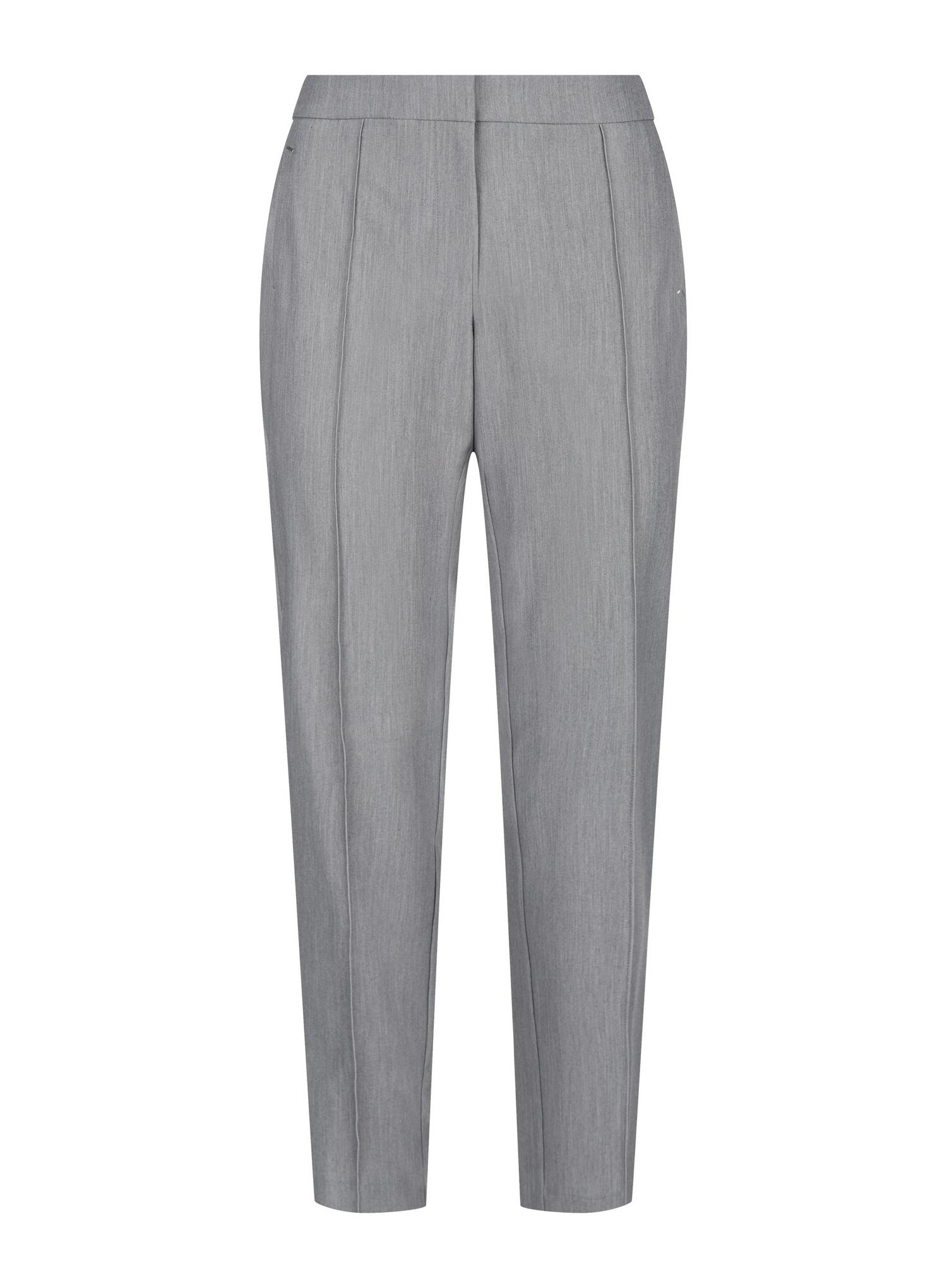 131 Tall Grey Tailored Trousers image number 4