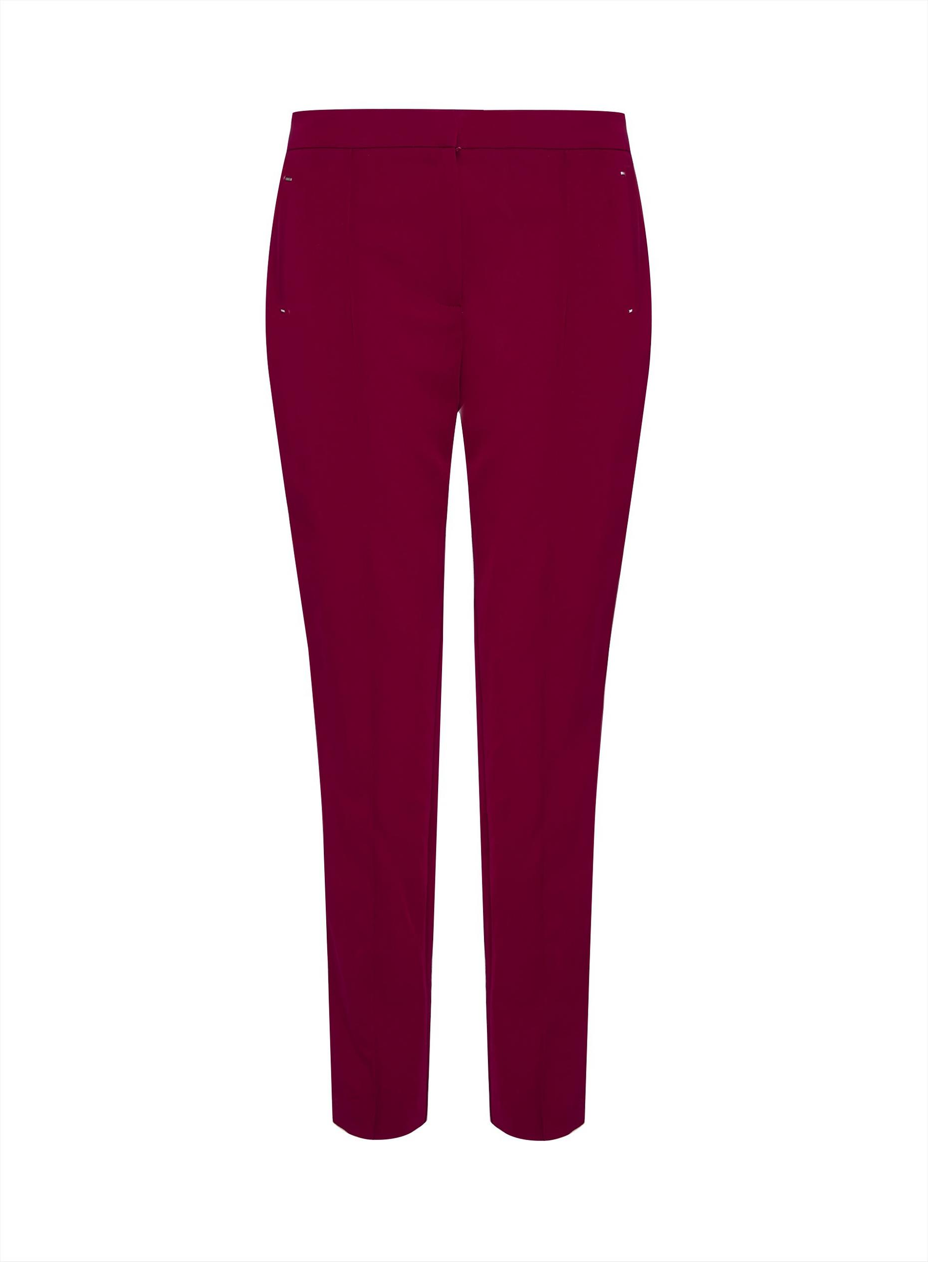 Tall Red Tailored Trousers