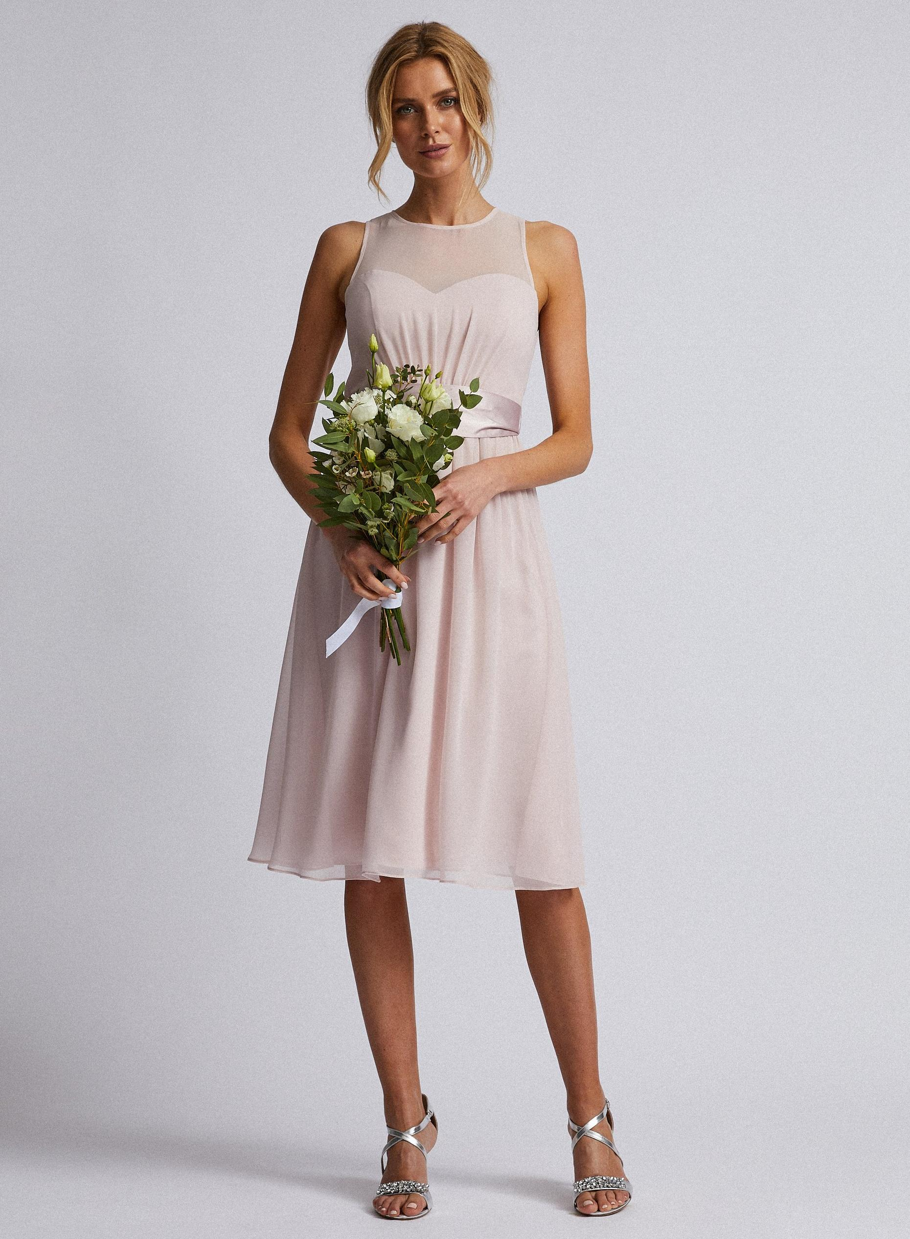 Blush Melissa Midi Dress