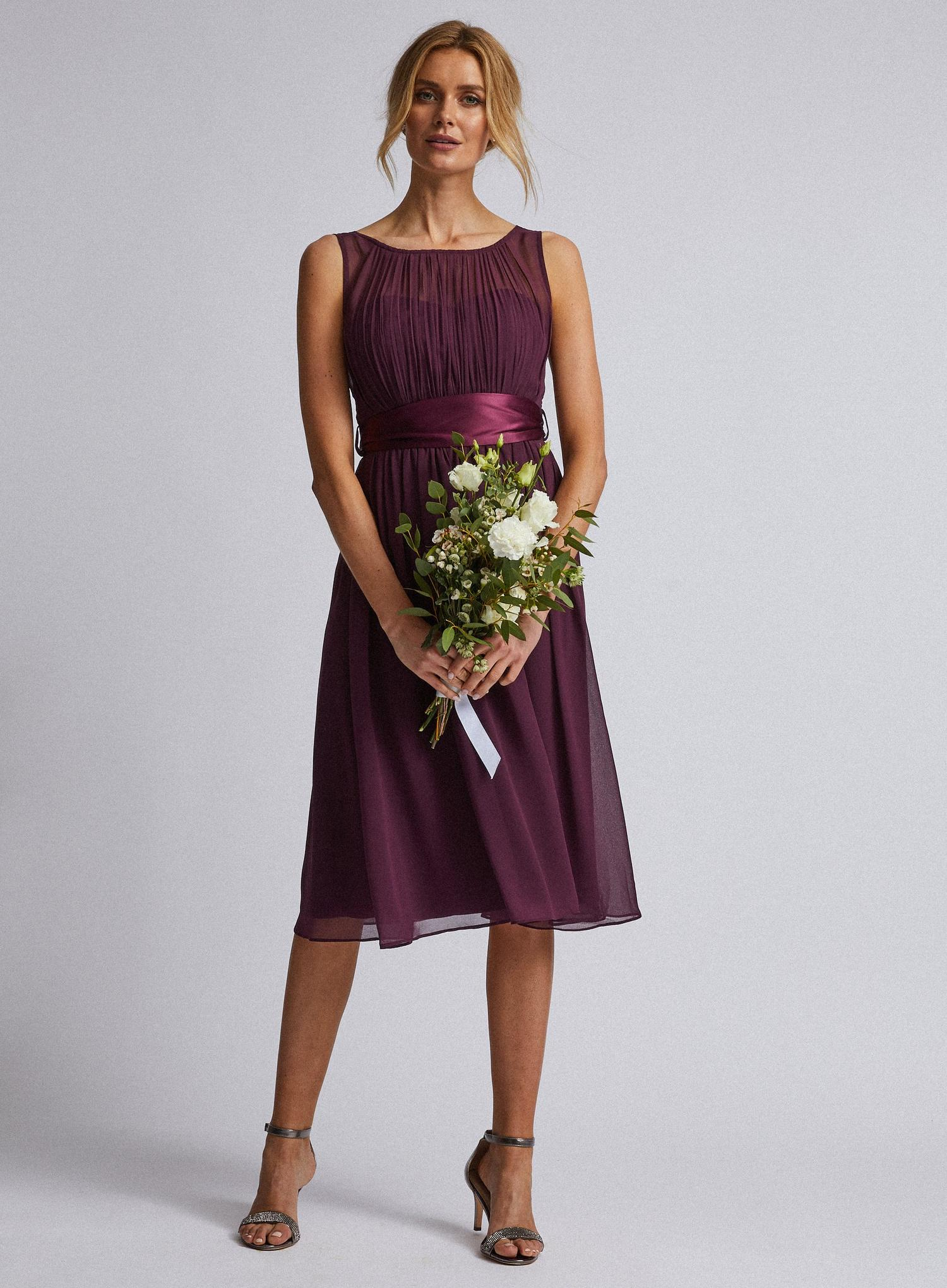157 Mulberry Bethany Midi Dress image number 1