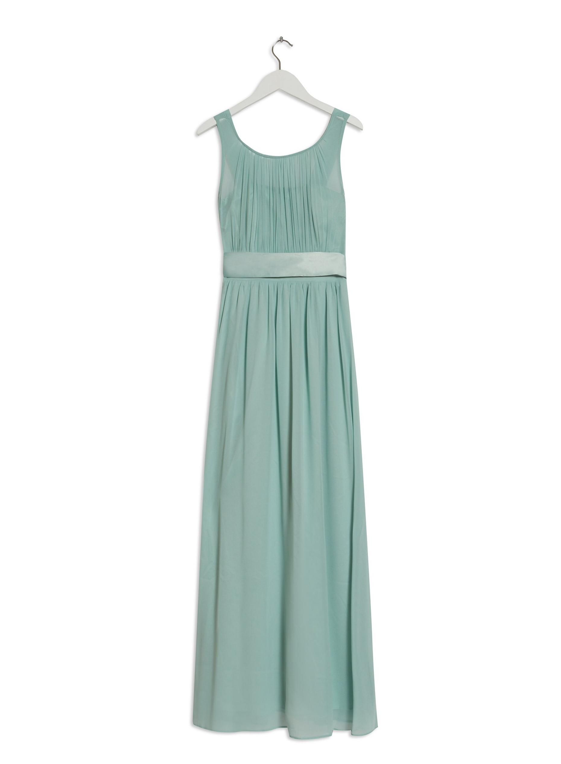 Natalie Thyme Green Maxi Dress